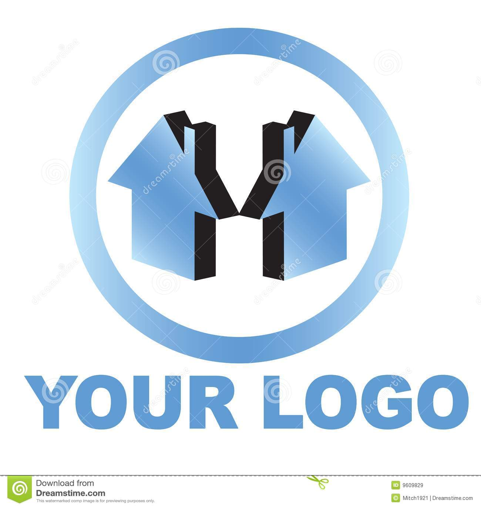Logotipo da casa dos bens imobiliários
