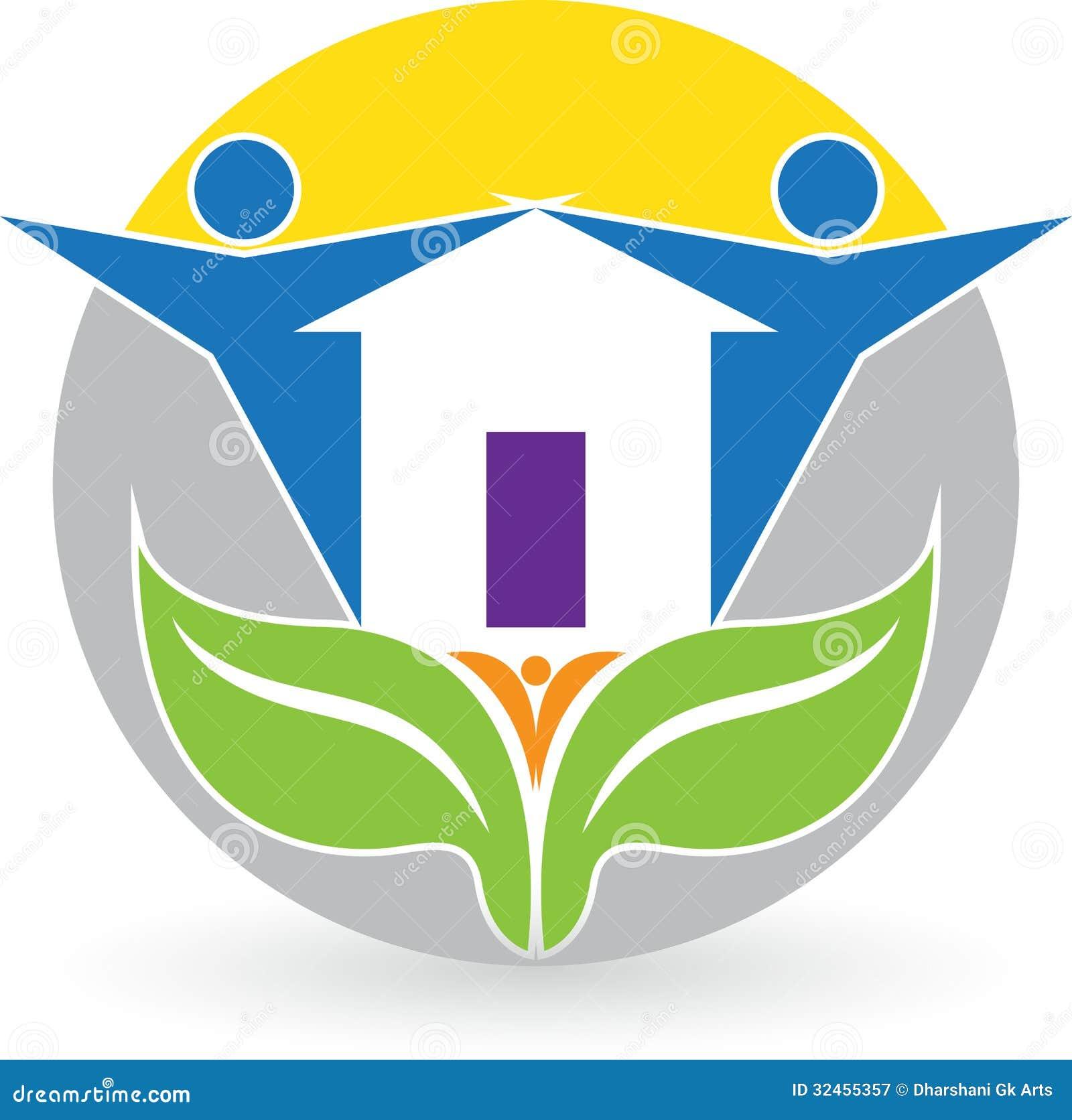 Logotipo da casa familiar