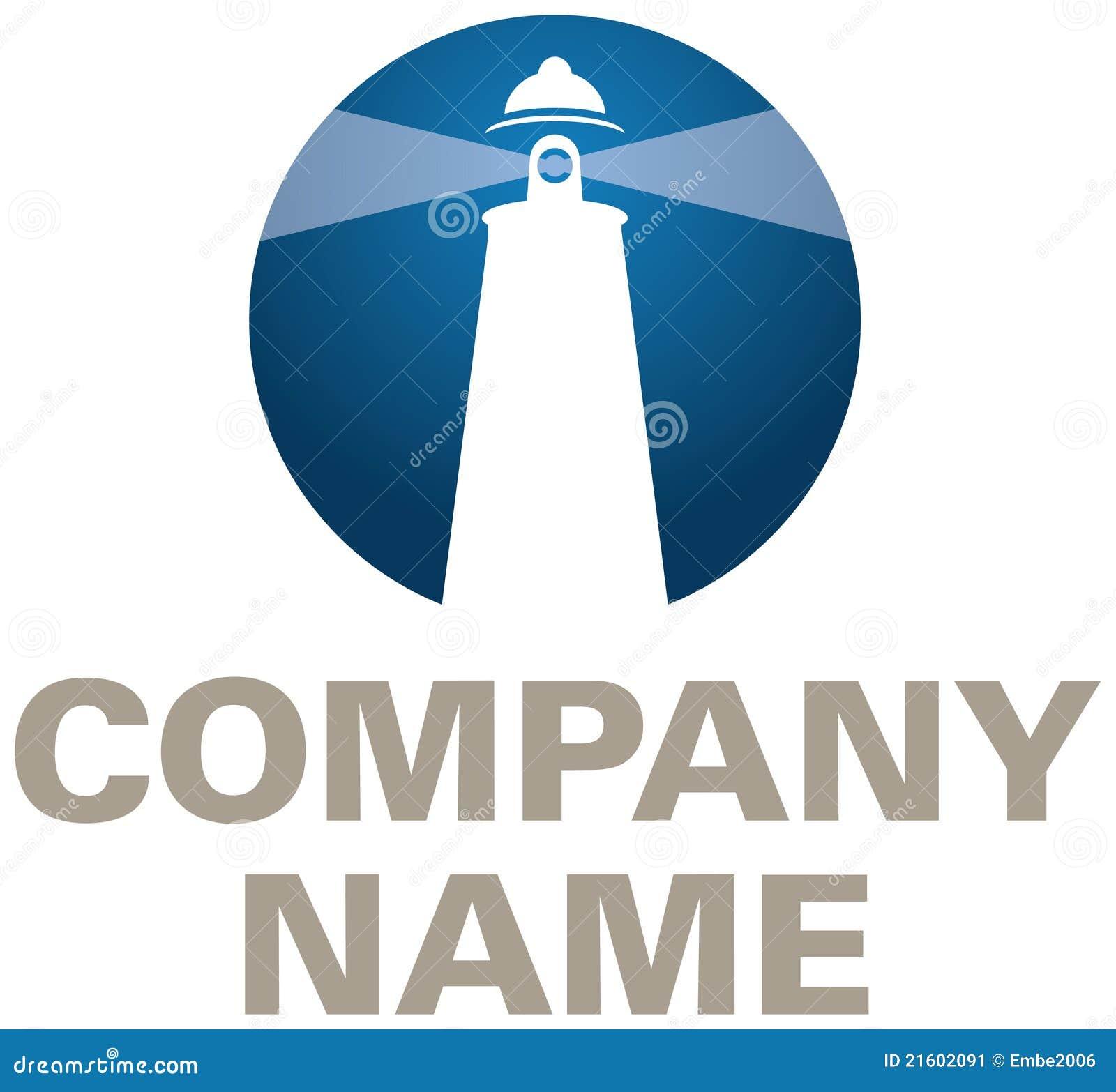 Logotipo da companhia do farol