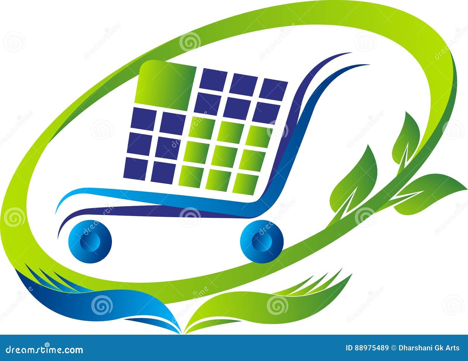 Logotipo da compra e das economias