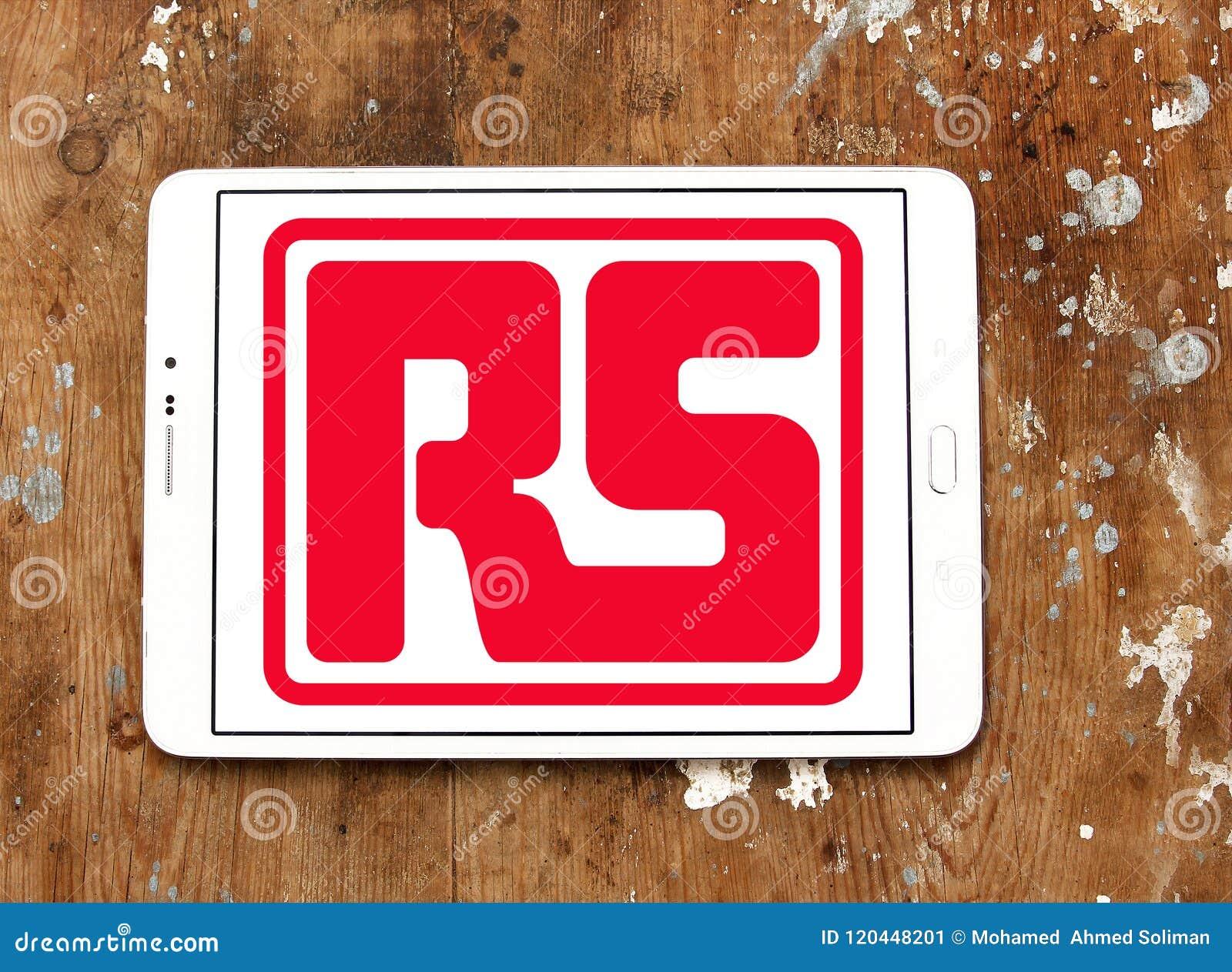 Logotipo da empresa dos componentes de RS