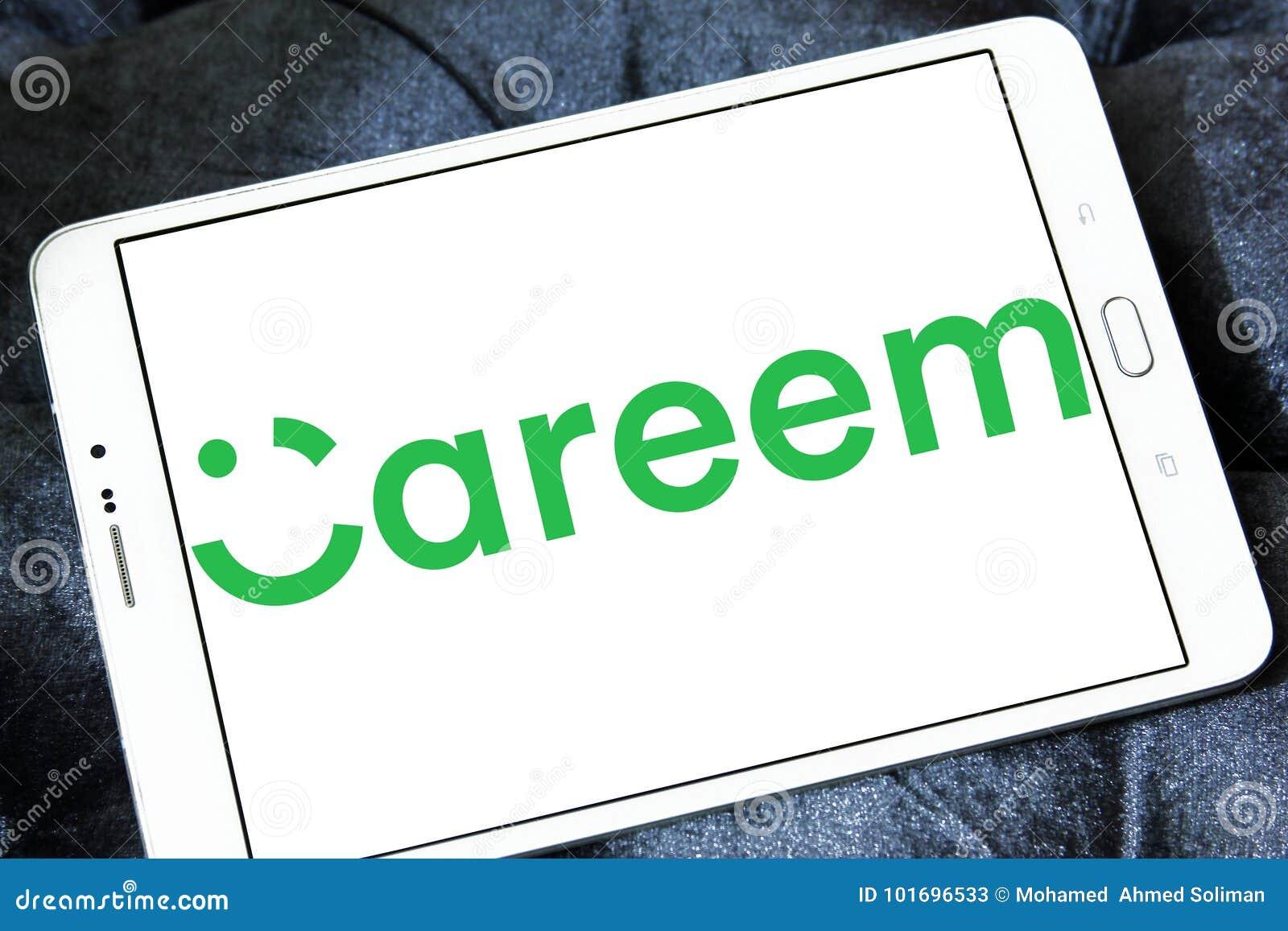 Logotipo da empresa da rede do transporte de Careem