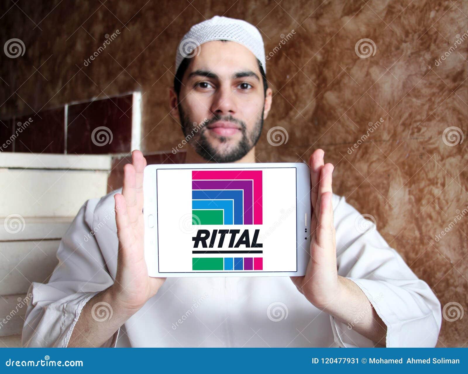 Logotipo da empresa da tecnologia de Rittal