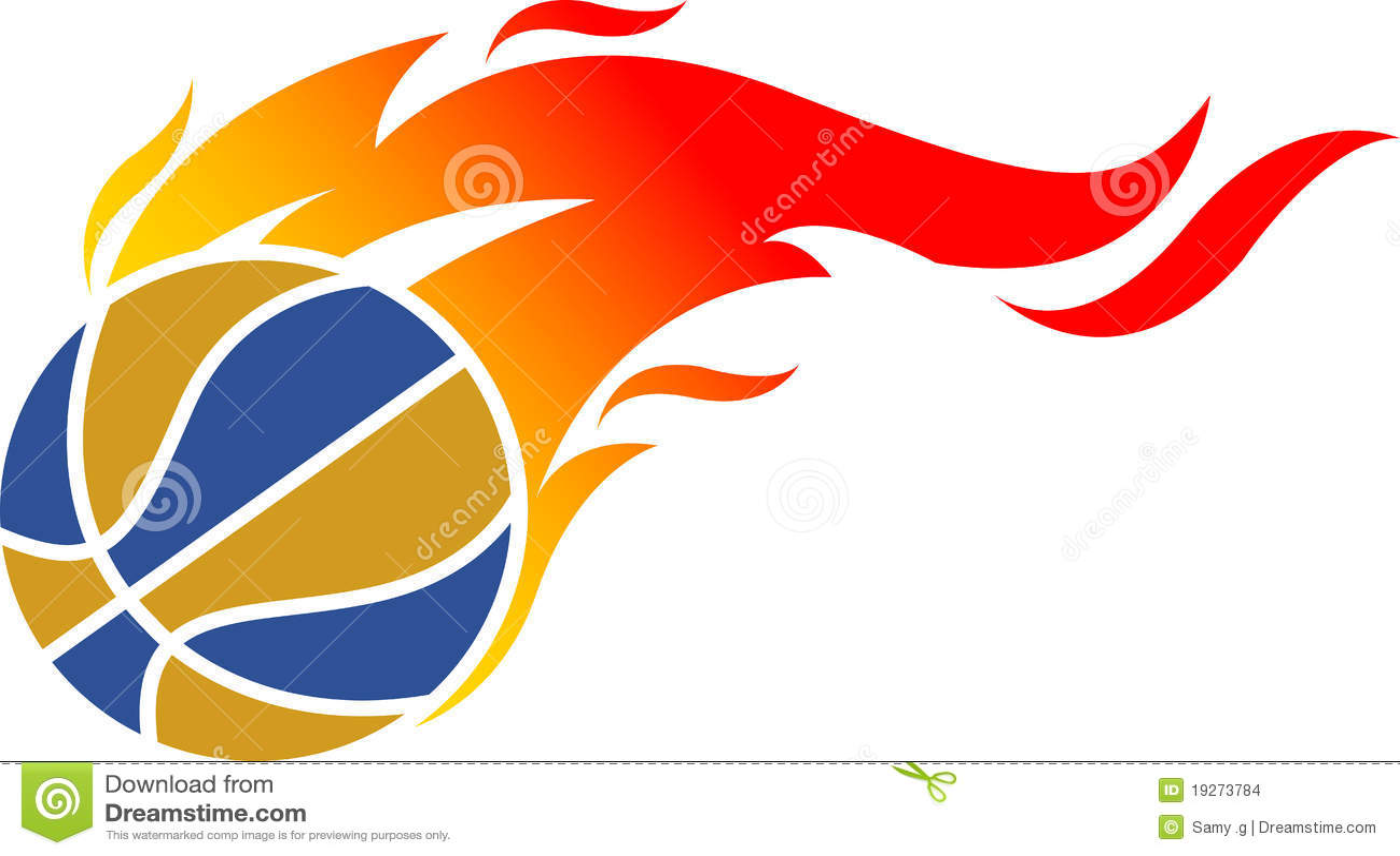 Logotipo da esfera de incêndio