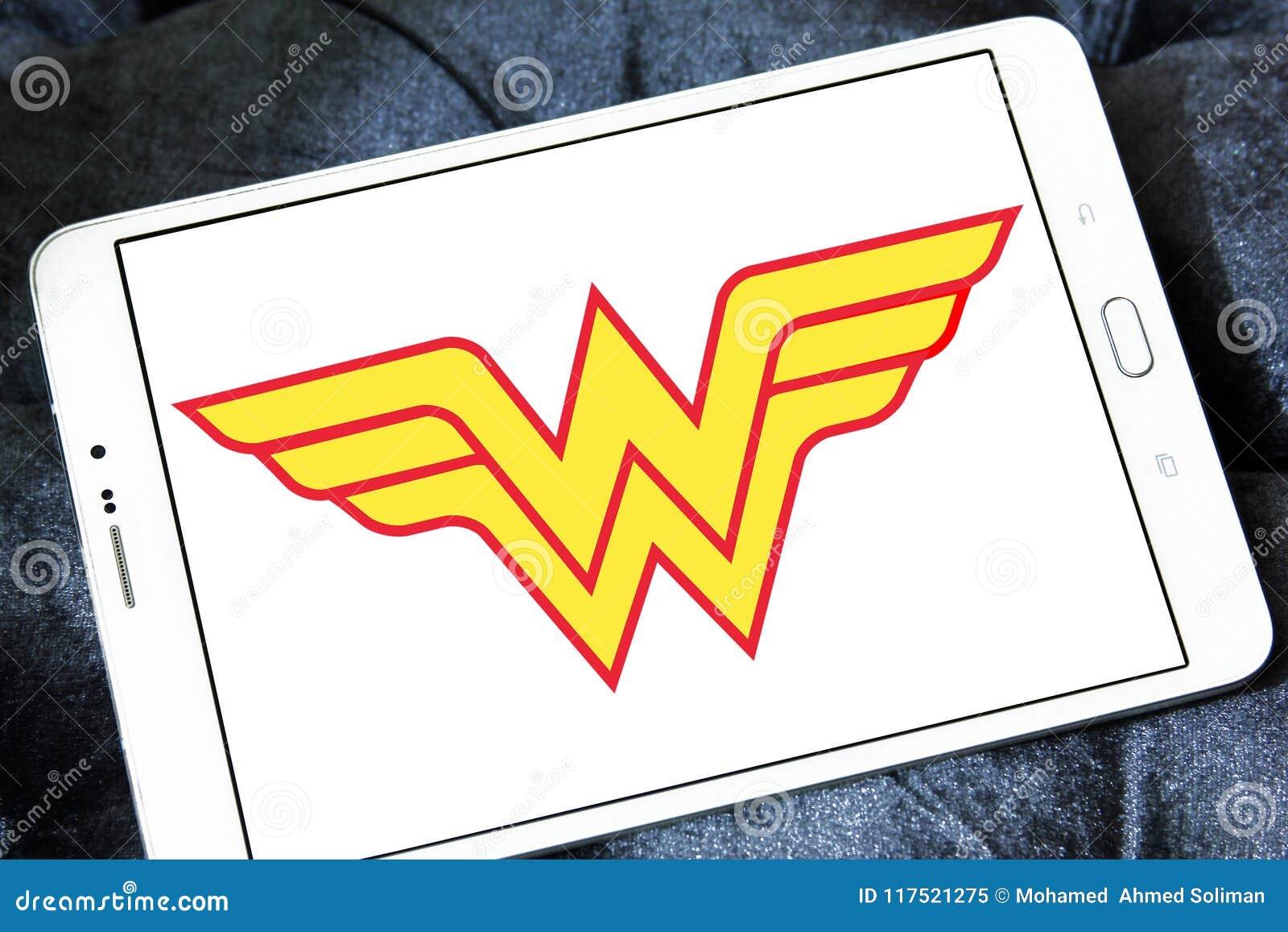 Logotipo Da Mulher Maravilha Imagem Editorial Imagem De Livros