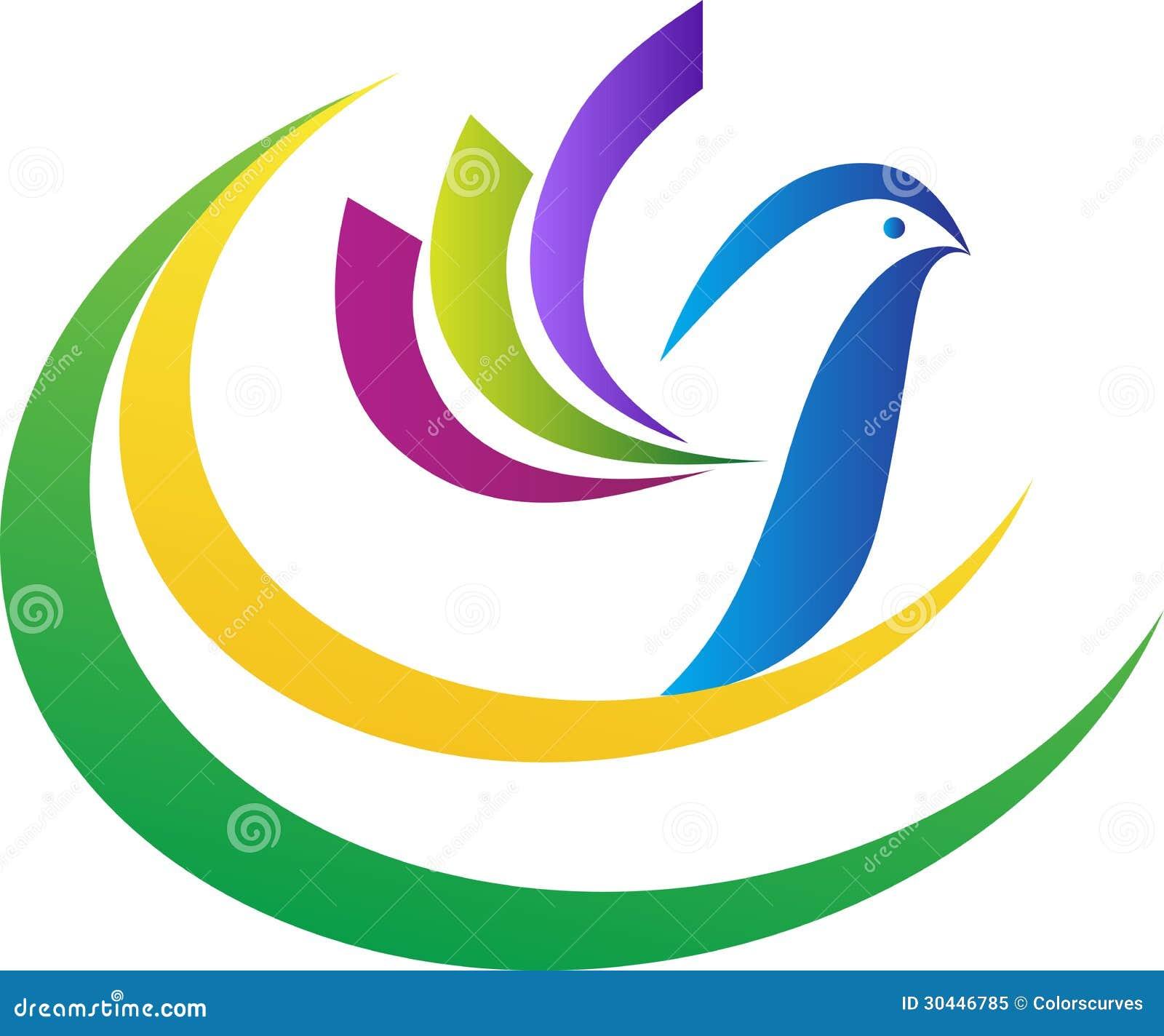 Logotipo da pomba