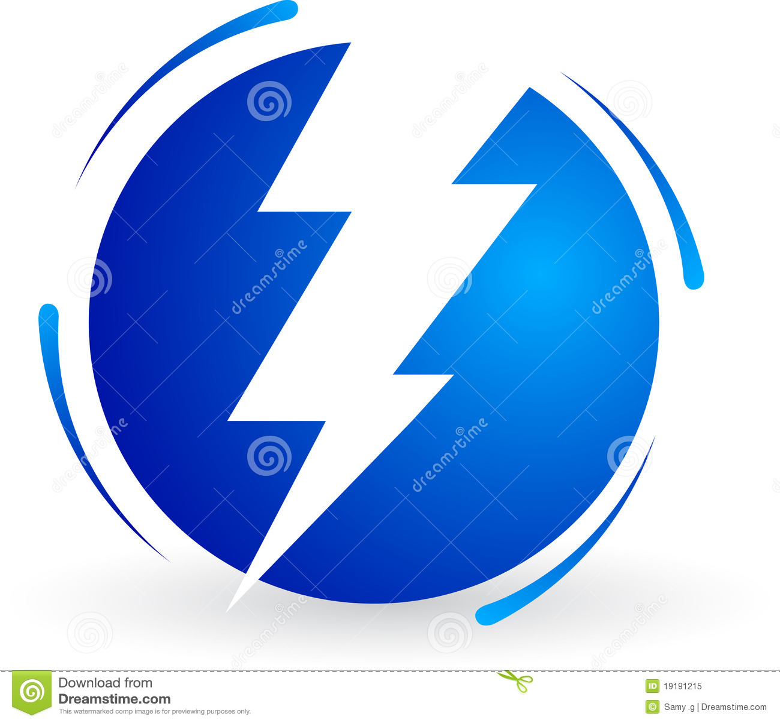 Logotipo da potência