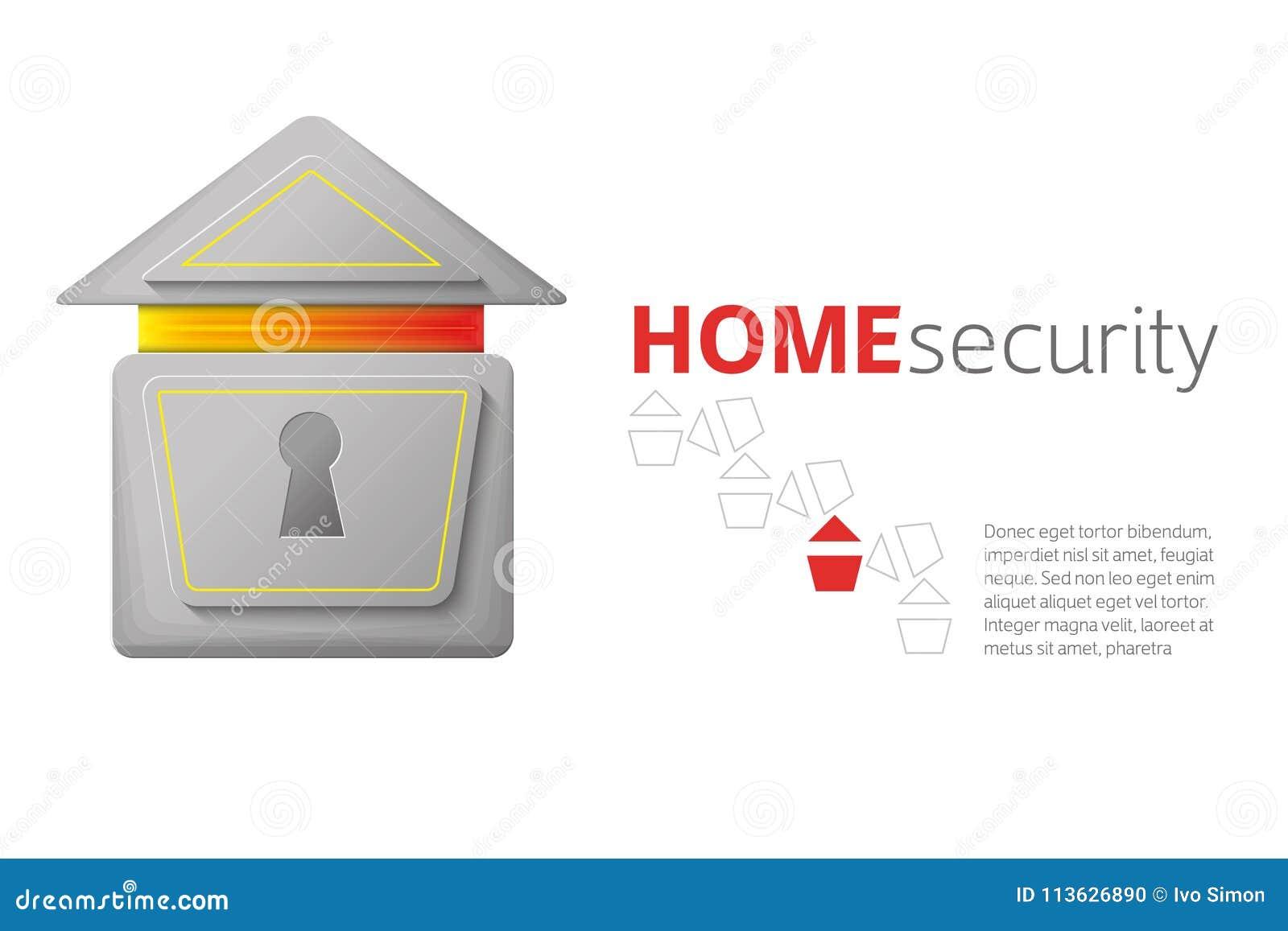Logotipo da segurança interna