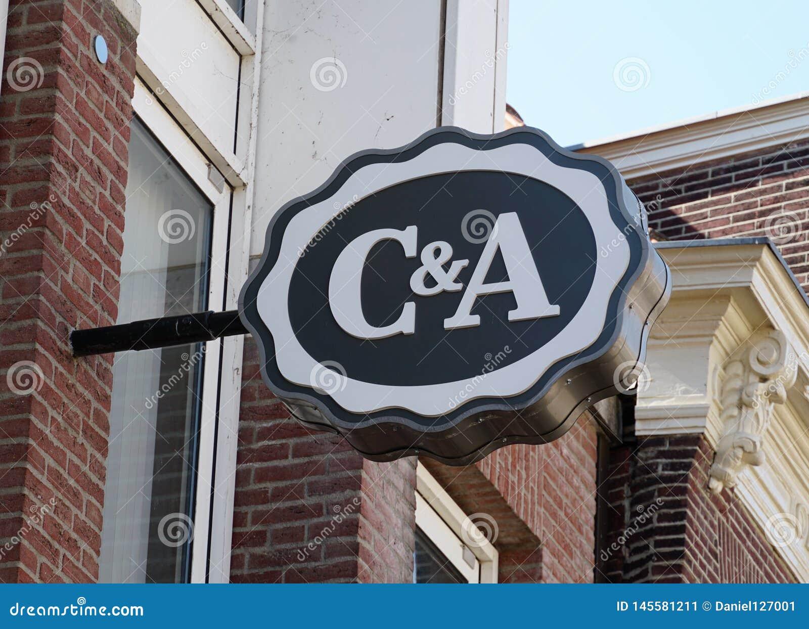 Logotipo De C A Foto Editorial Imagen De Economia Afuera 145581211