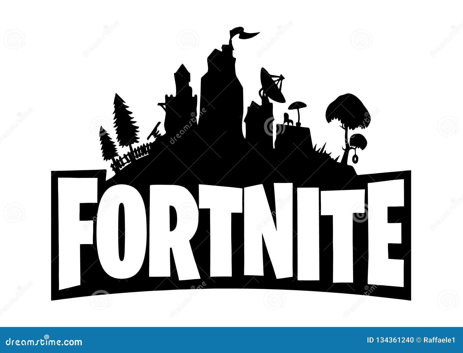 Logotipo De Fortnite Imagem Editorial Ilustra 231 227 O De Jogo
