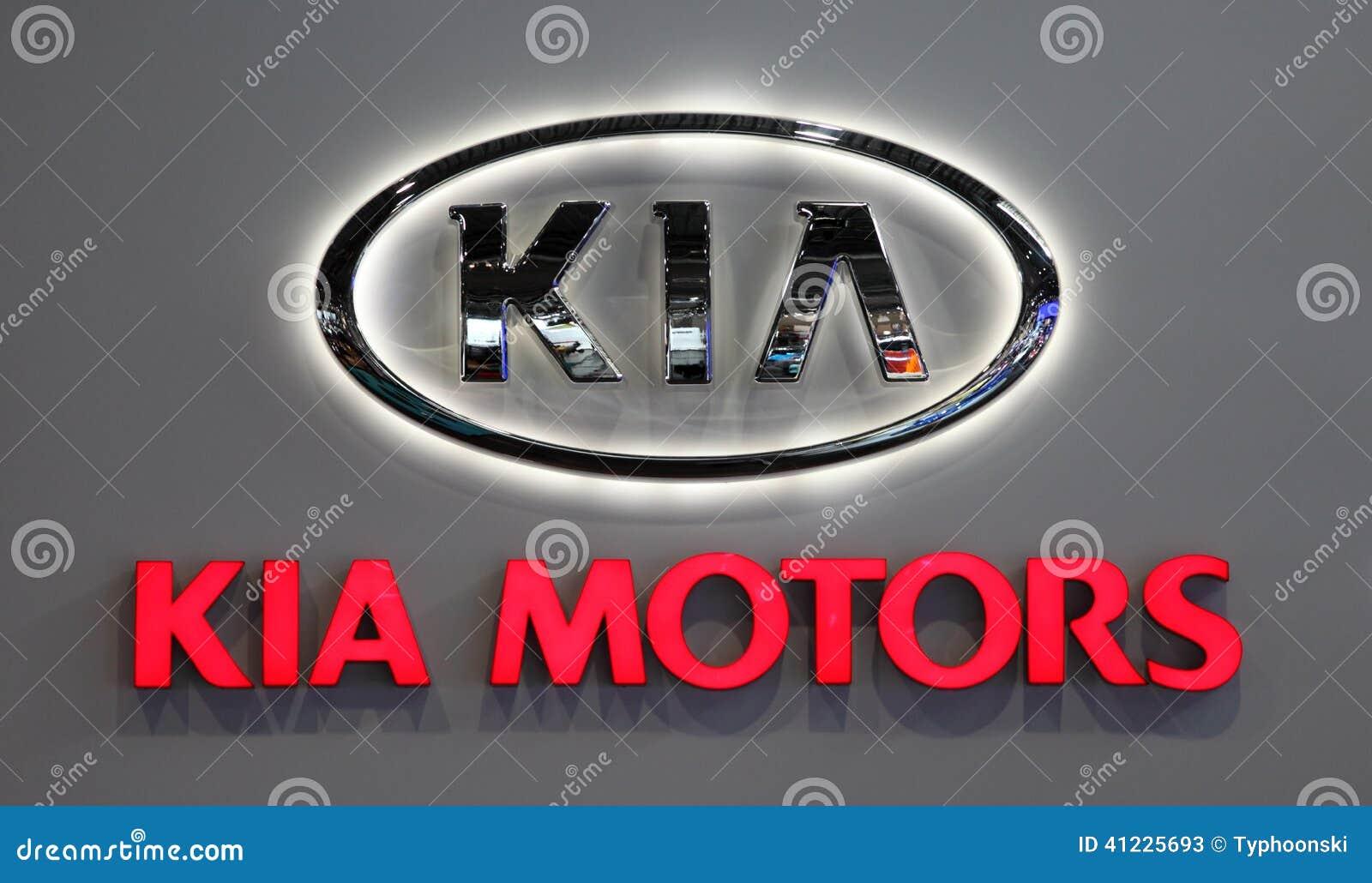 Logotipo De Kia Motors Company Foto De Archivo Editorial