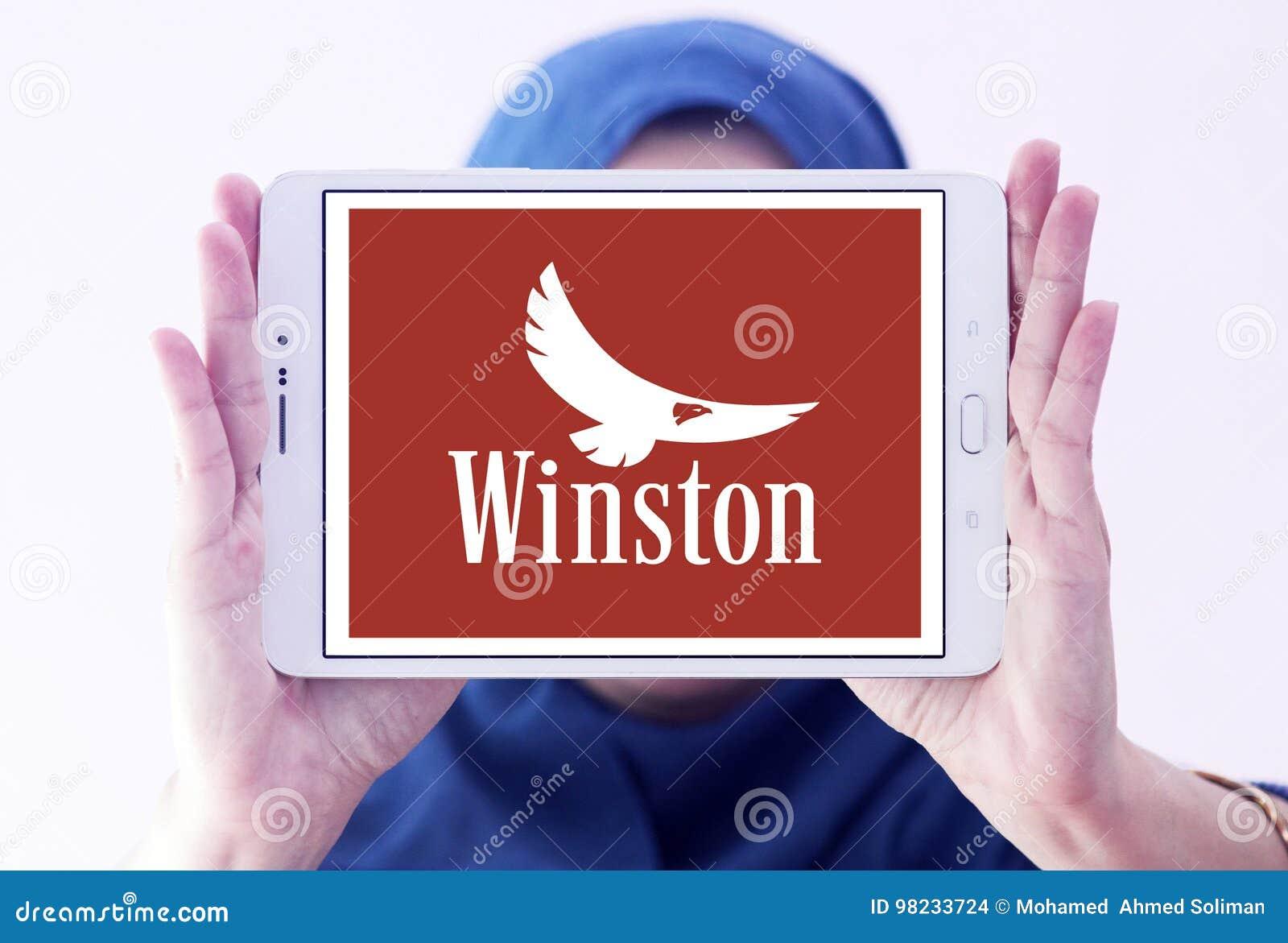 Logotipo de la compañía de los cigarrillos de Winston