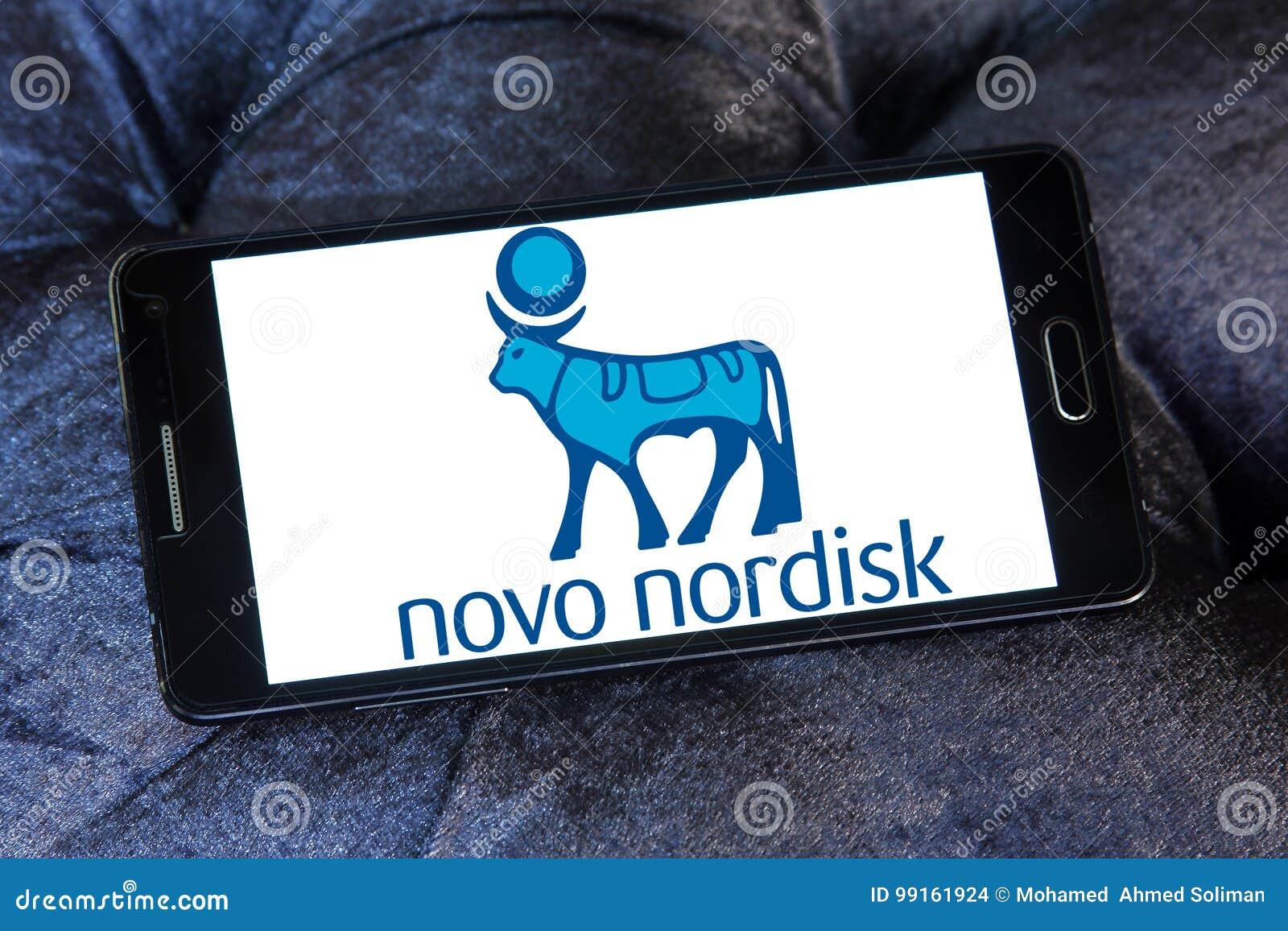 Logotipo de la compañía farmacéutica de Novo Nordisk