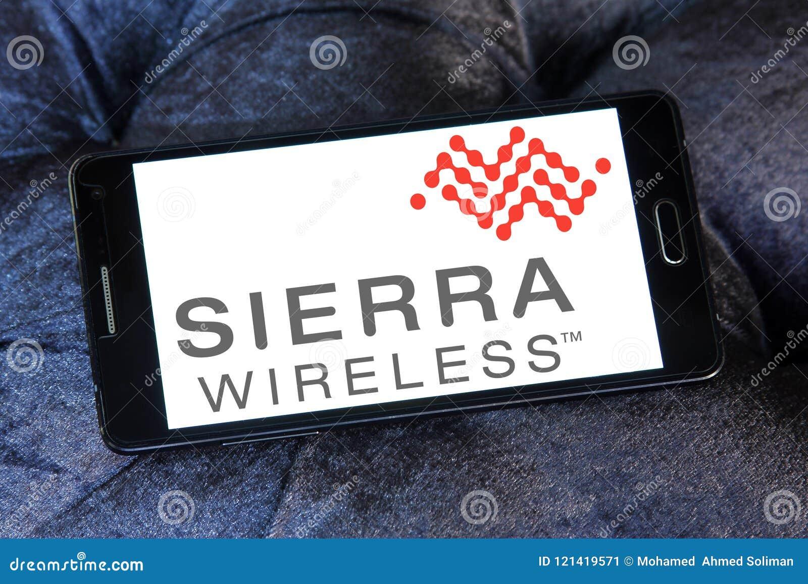 Logotipo de la compañía de Sierra Wireless