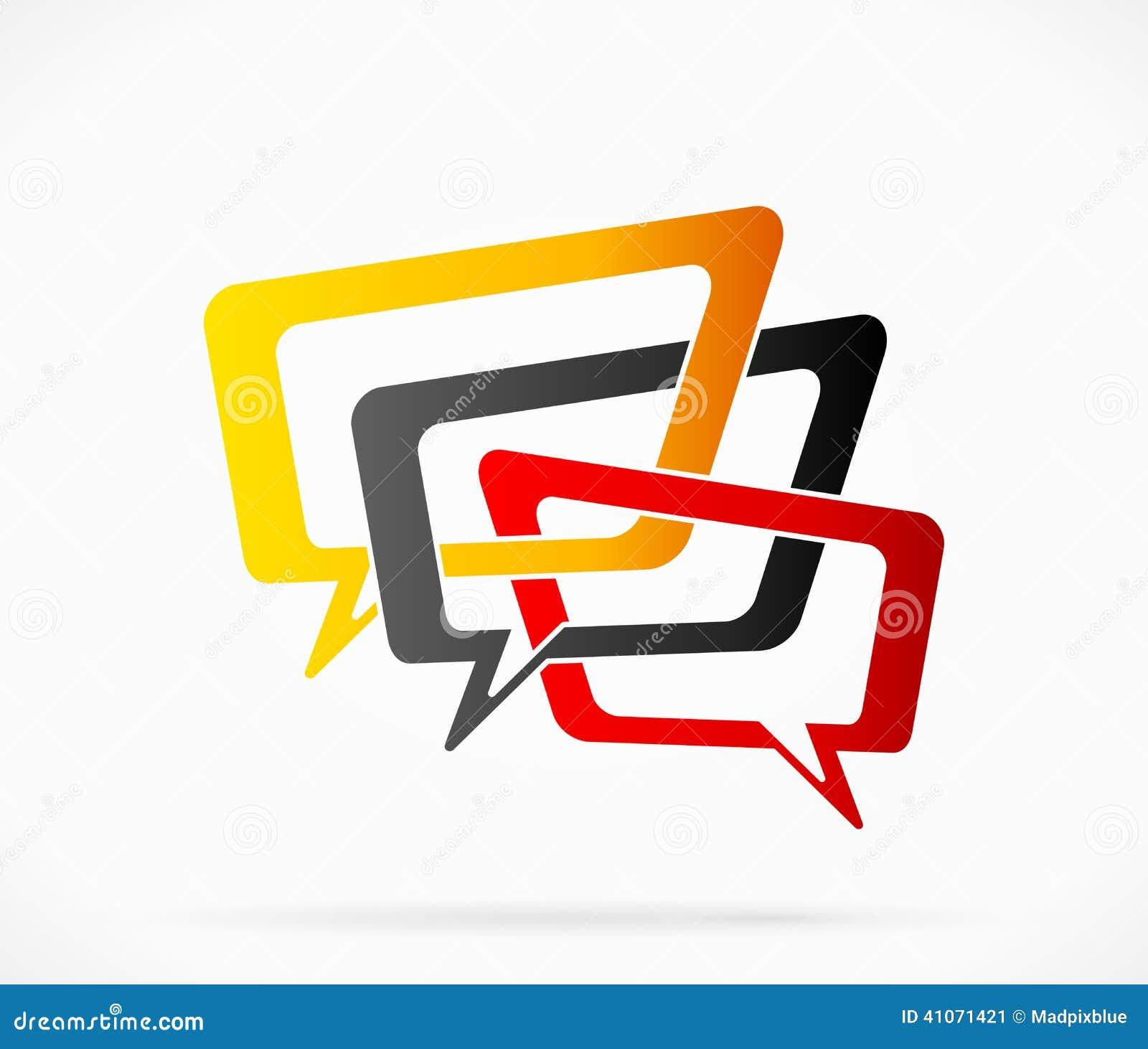 Logotipo de la conversación