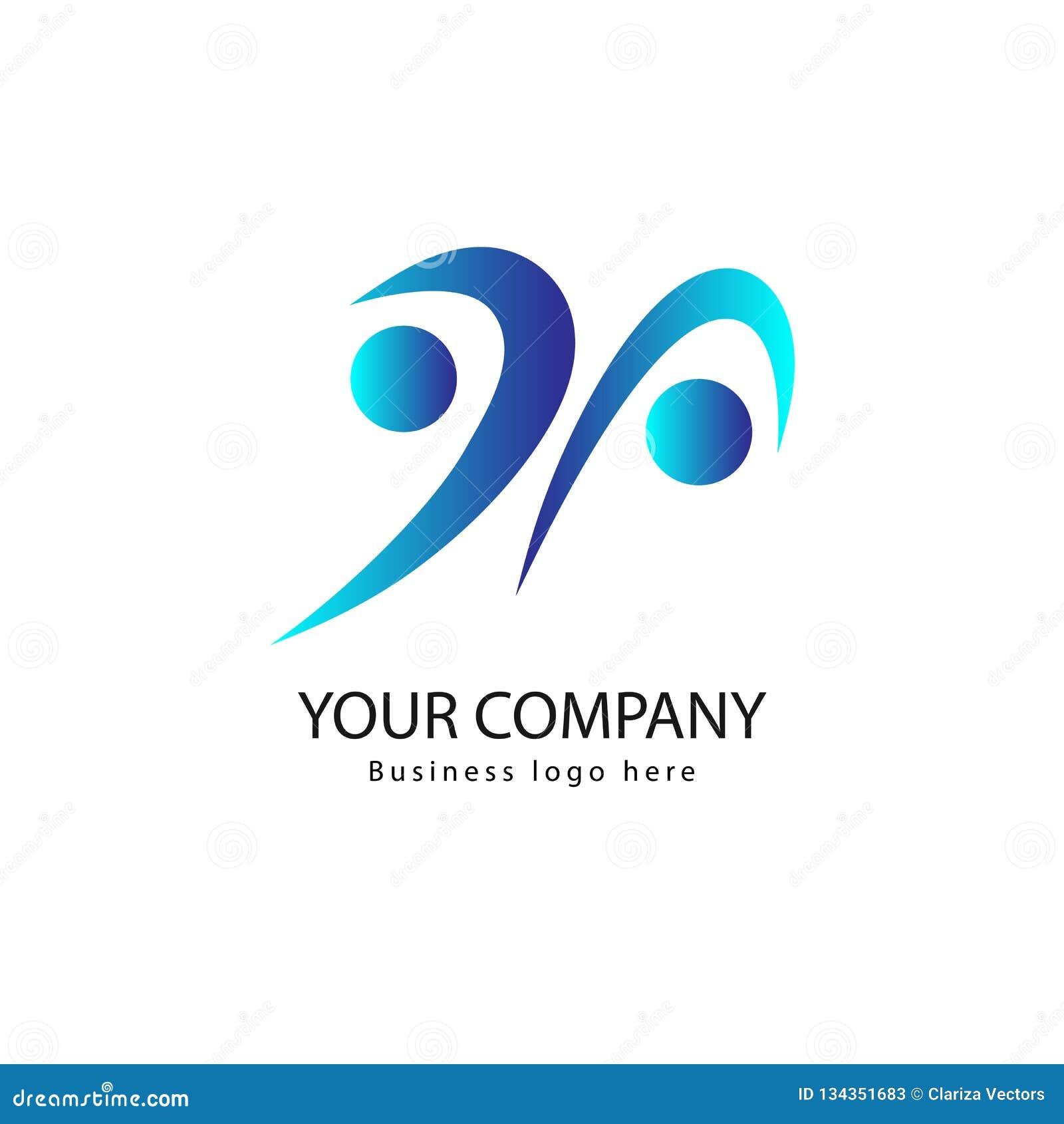 Logotipo de la gente e icono activos del vector