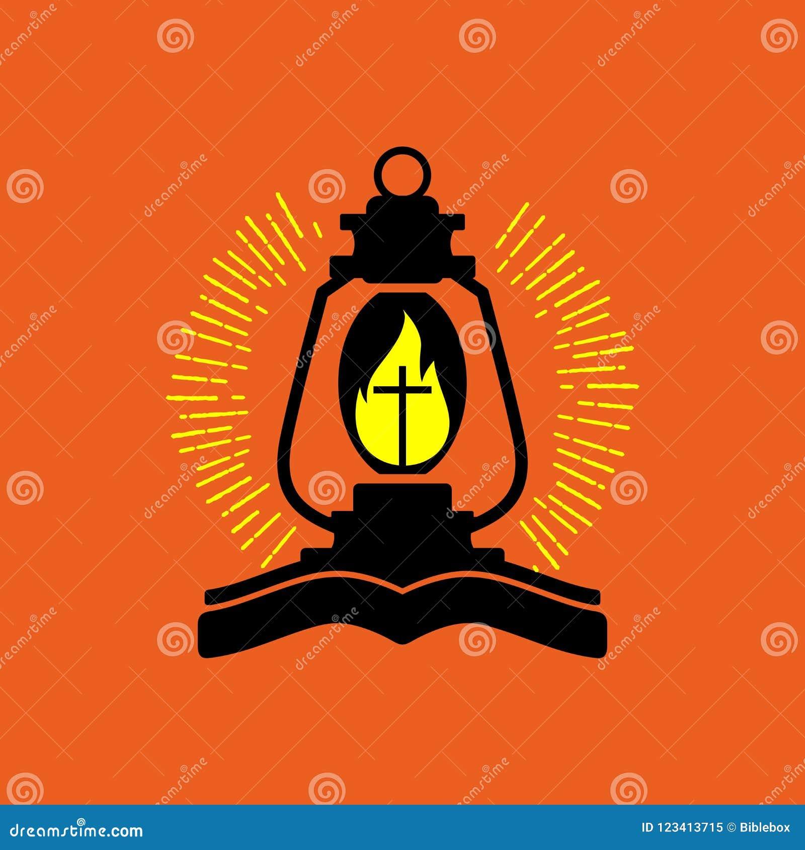 Logotipo de la iglesia Lámpara del ` s de dios