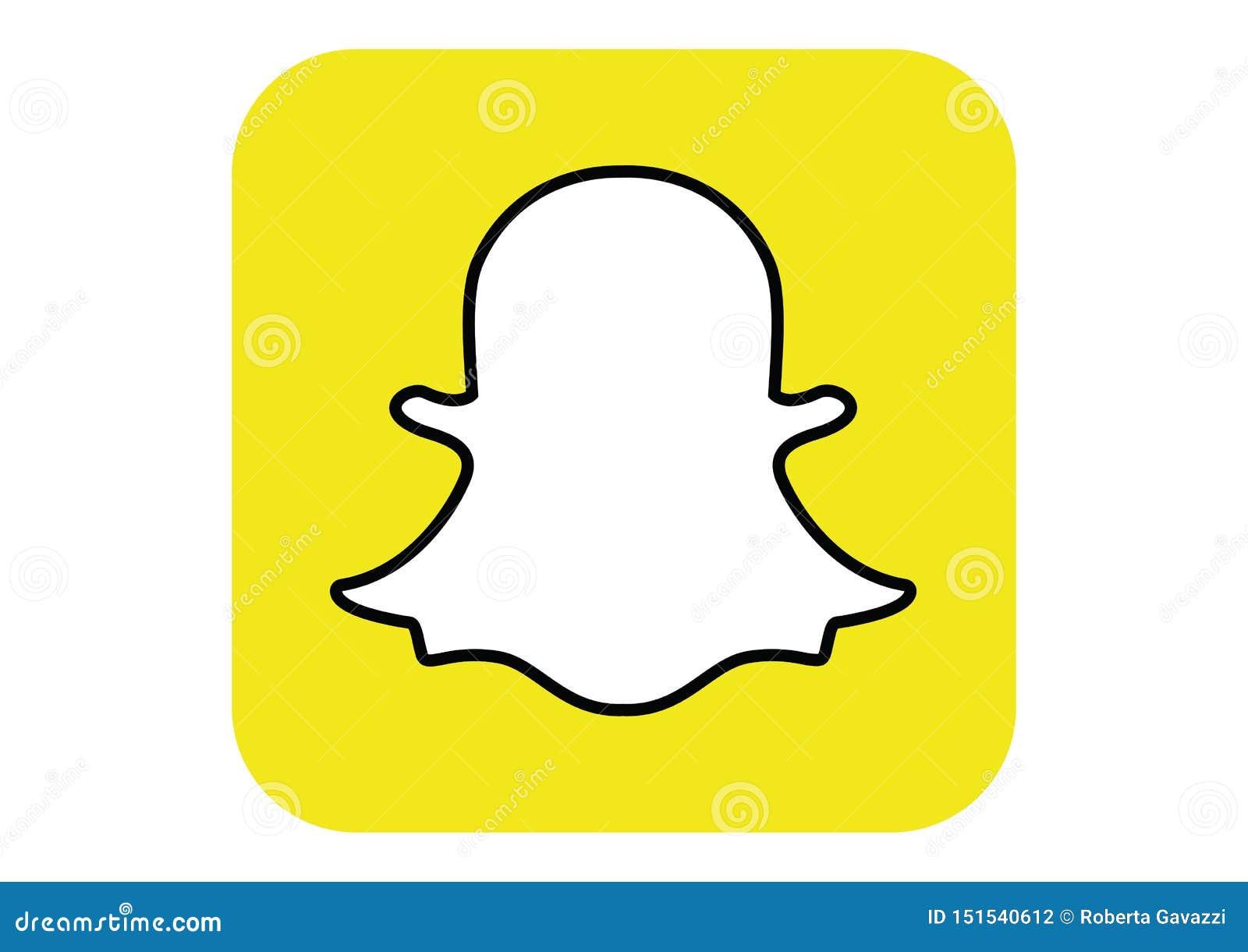 Logotipo de la red social Snapchat
