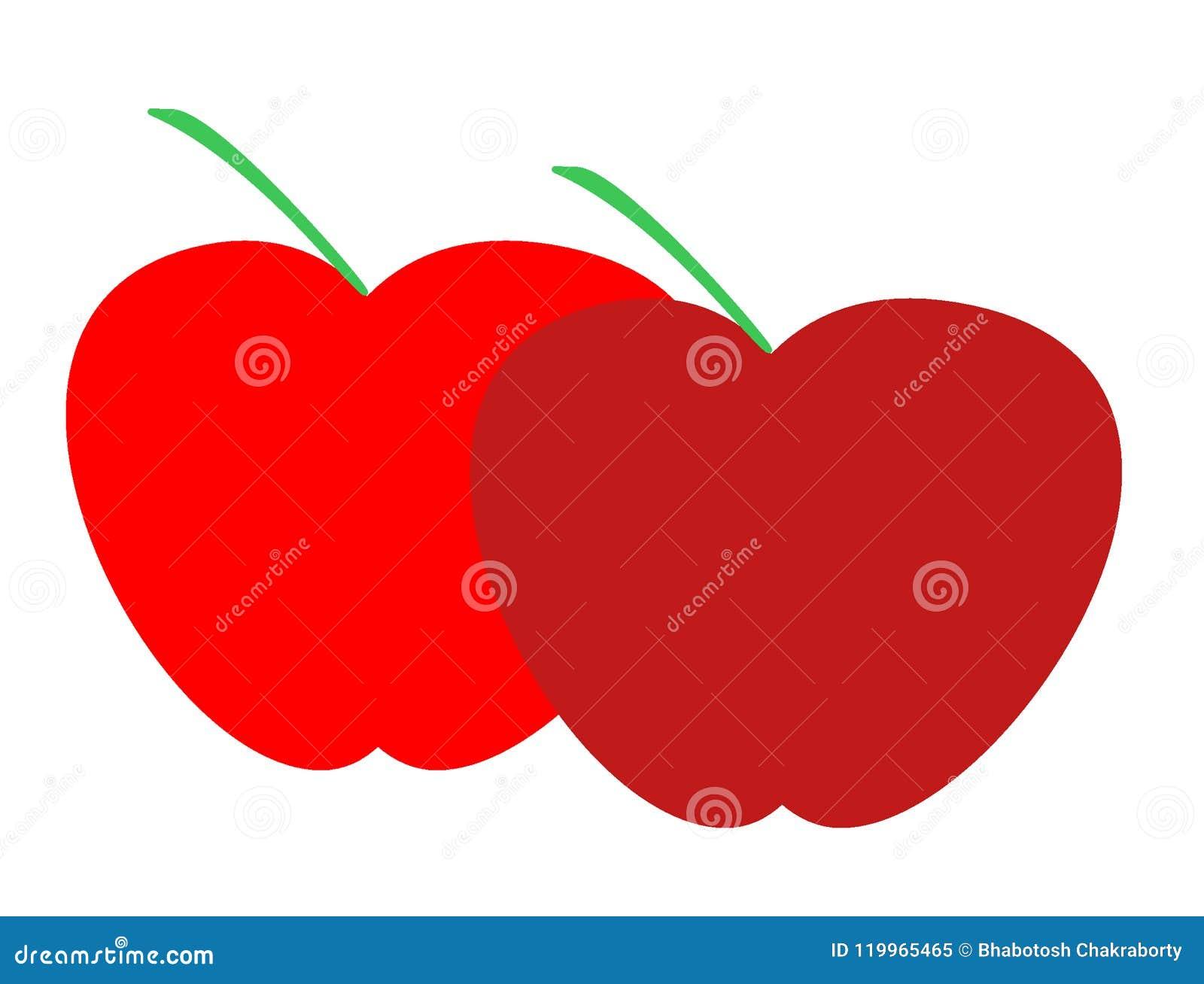 Logotipo De Las Manzanas Para El Negocio De Importación De La ...
