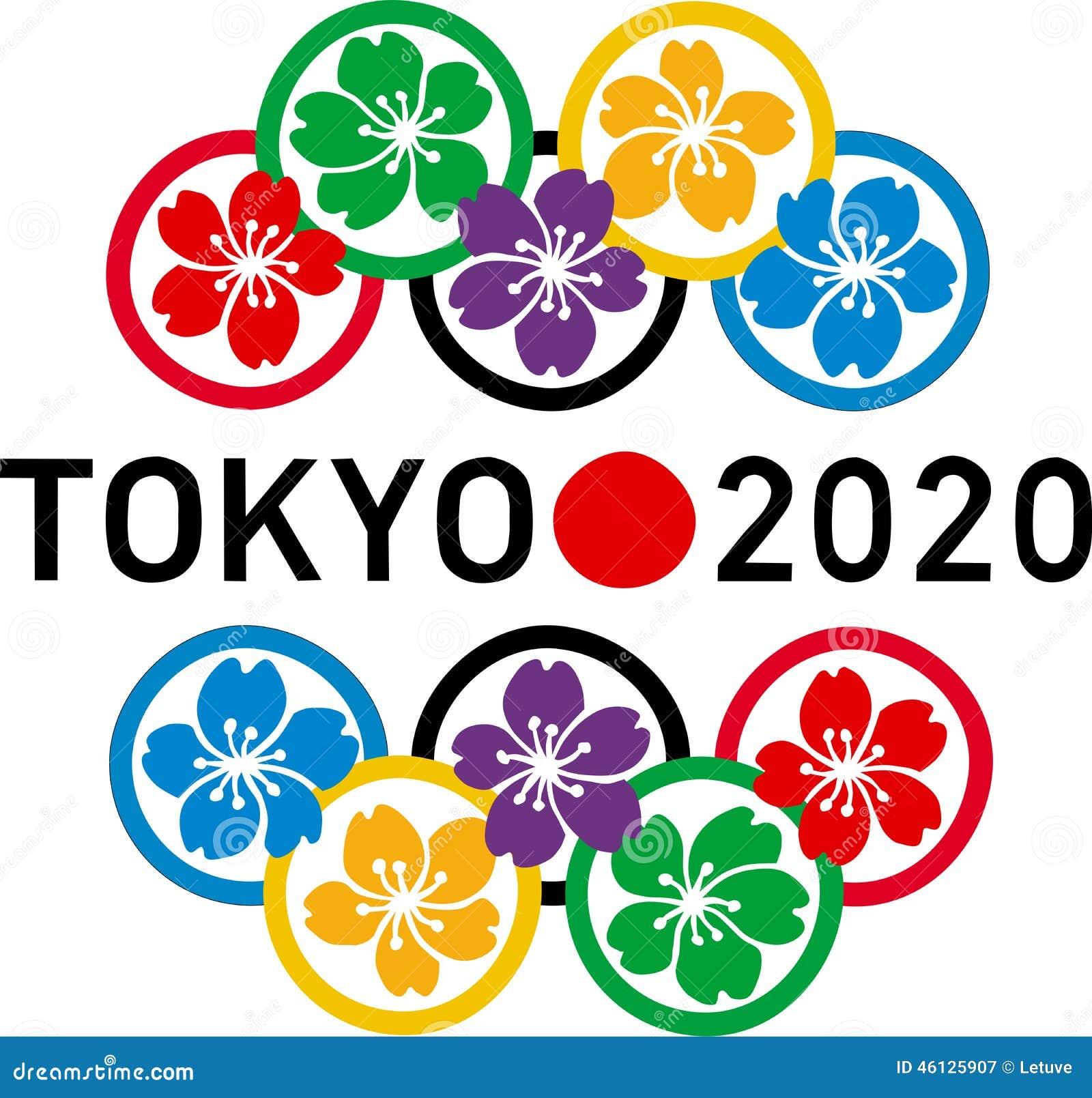 Logotipo 2020 de las Olimpiadas de Tokio