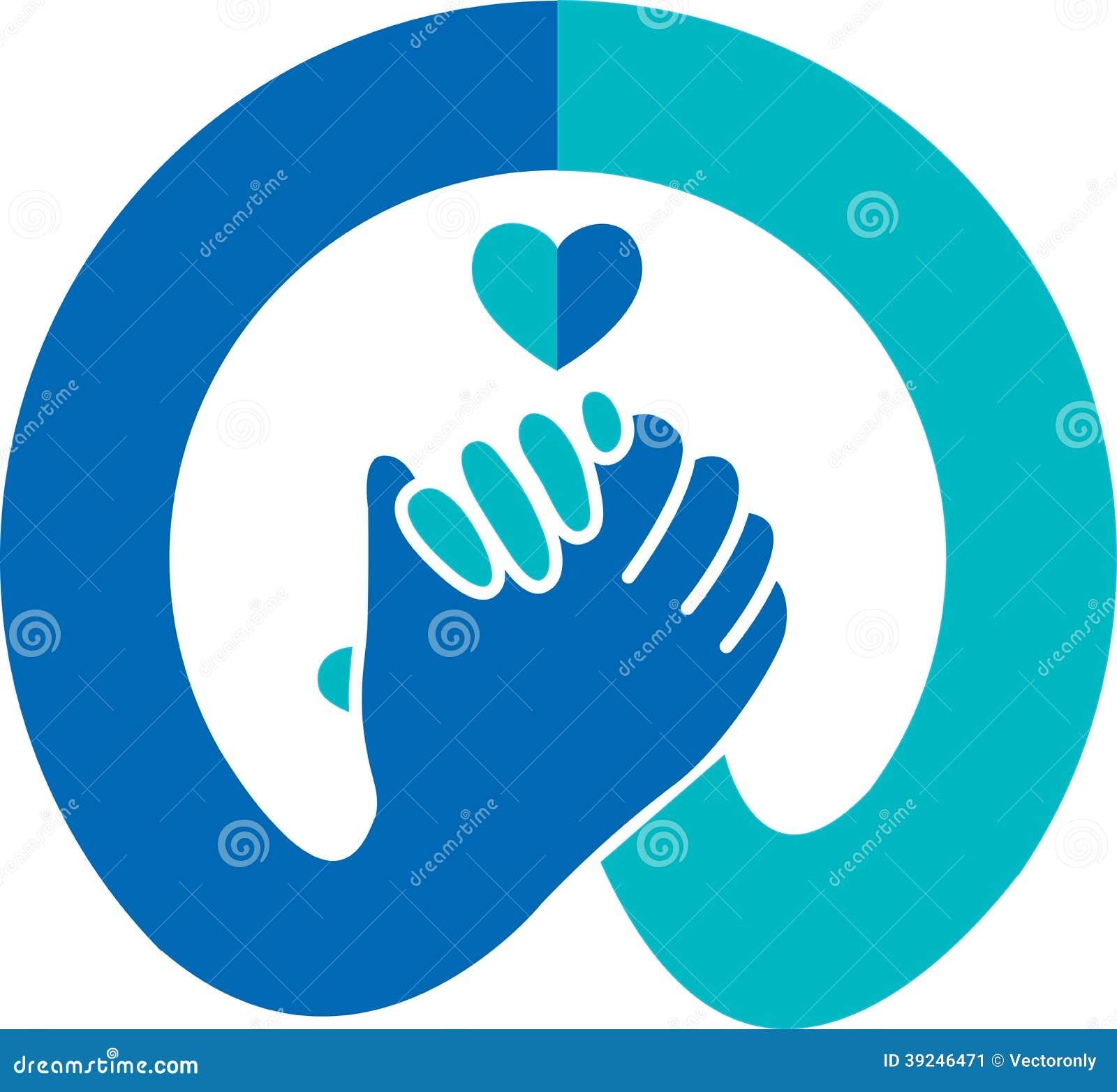 Logotipo del apretón de manos