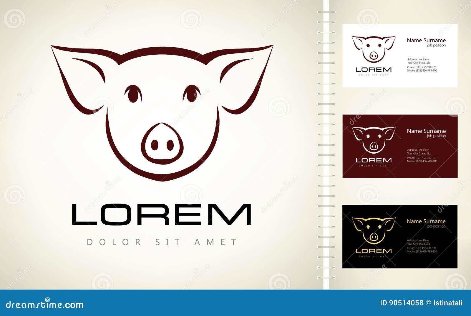 Logotipo del cerdo