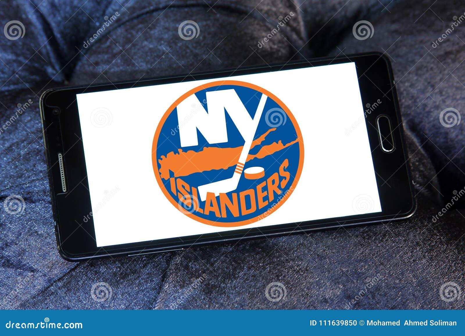 Logotipo del equipo de hockey del hielo de los New York Islanders