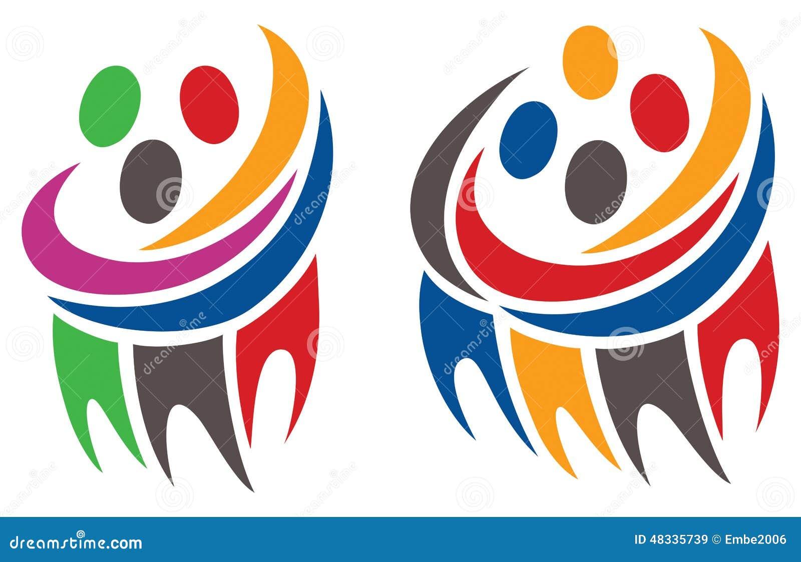 Logotipo del grupo de la gente