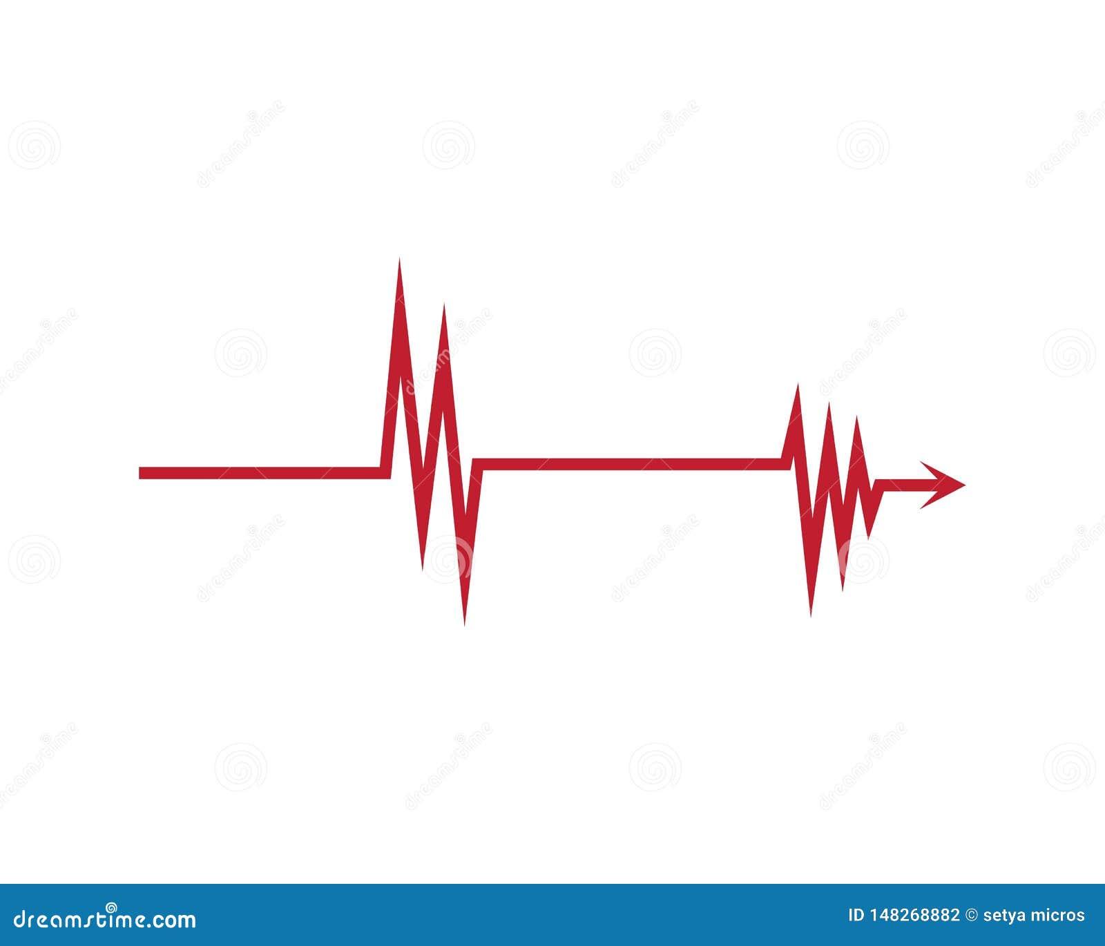 Logotipo del ilustration de la onda ac?stica