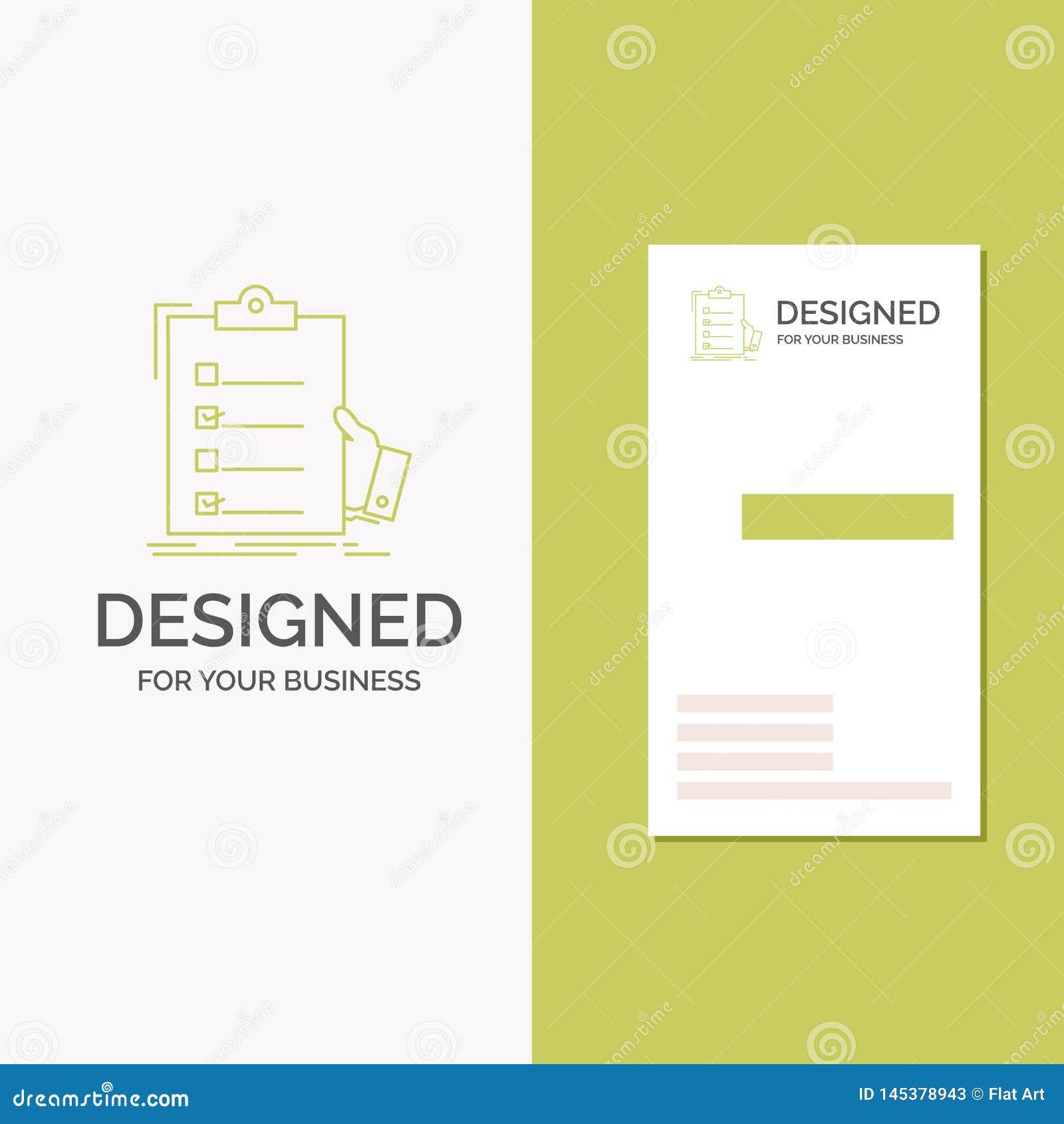 Logotipo del negocio para la lista de control, control, experiencia, lista, tablero r creativo