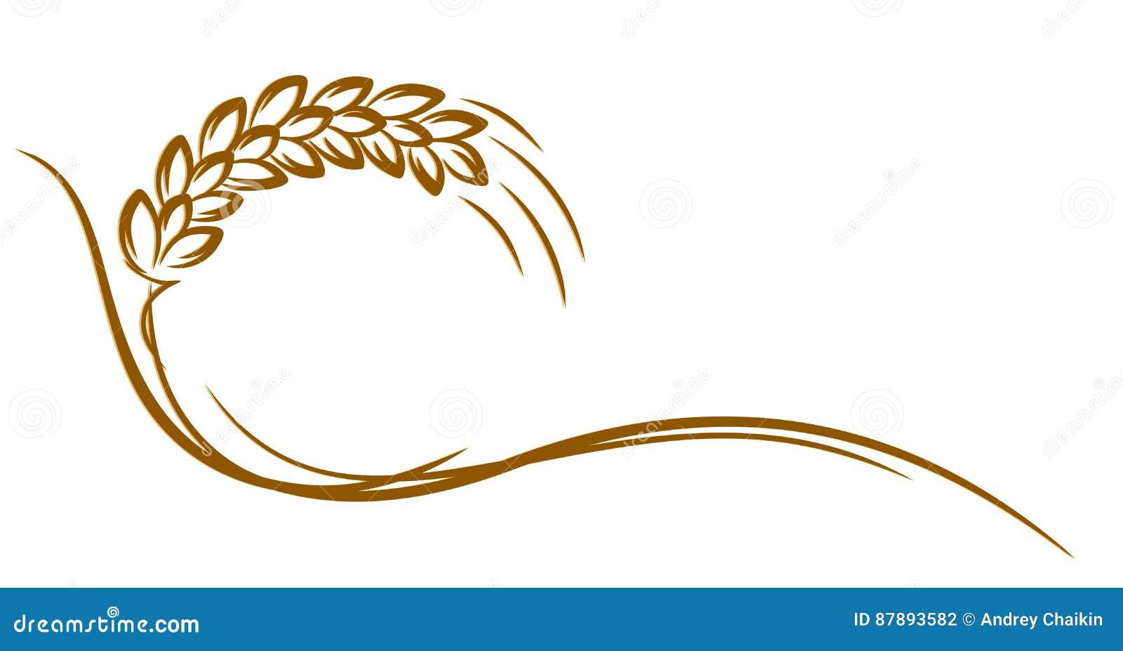 Logotipo del trigo