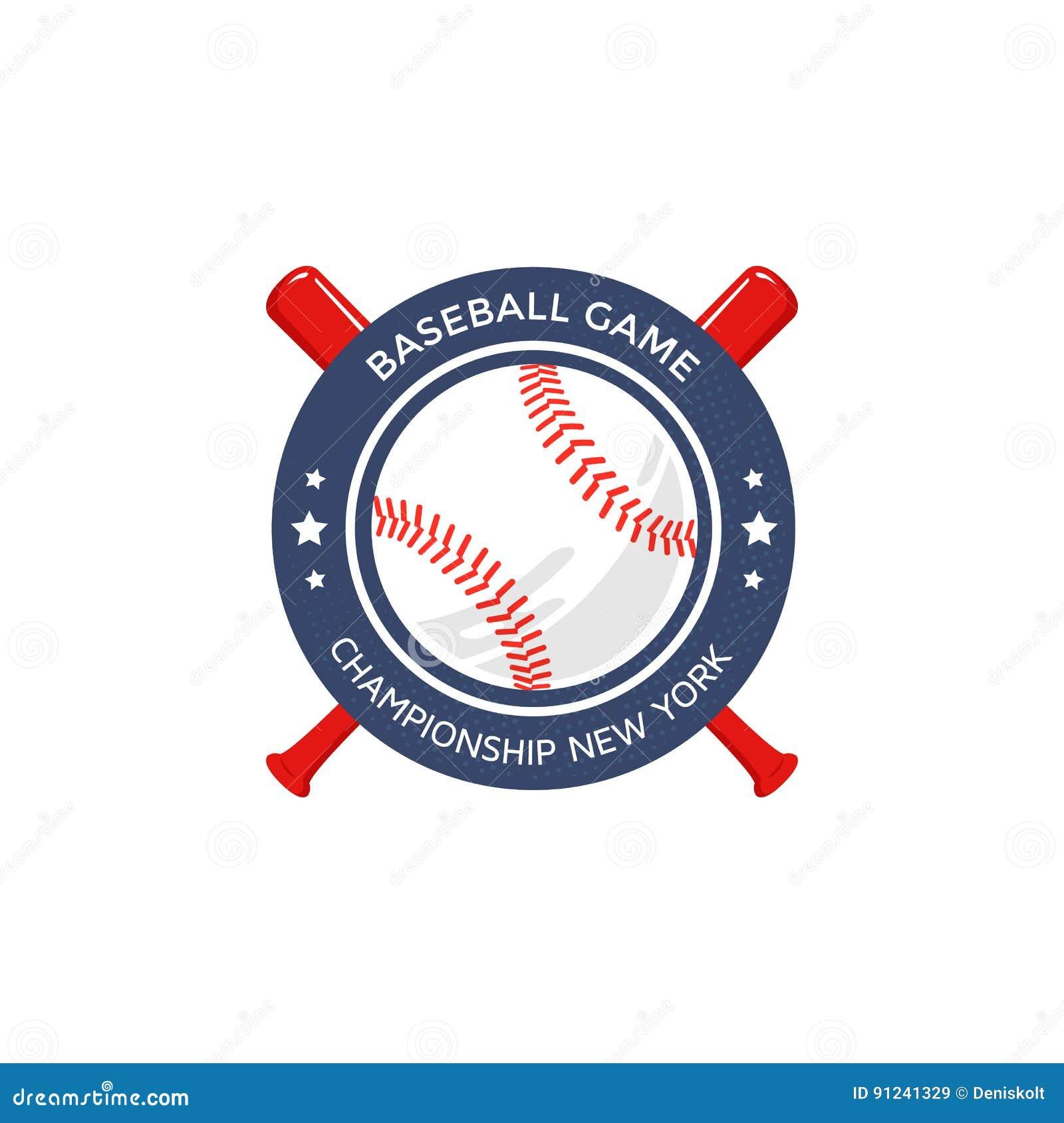Logotipo do basebol, emblema