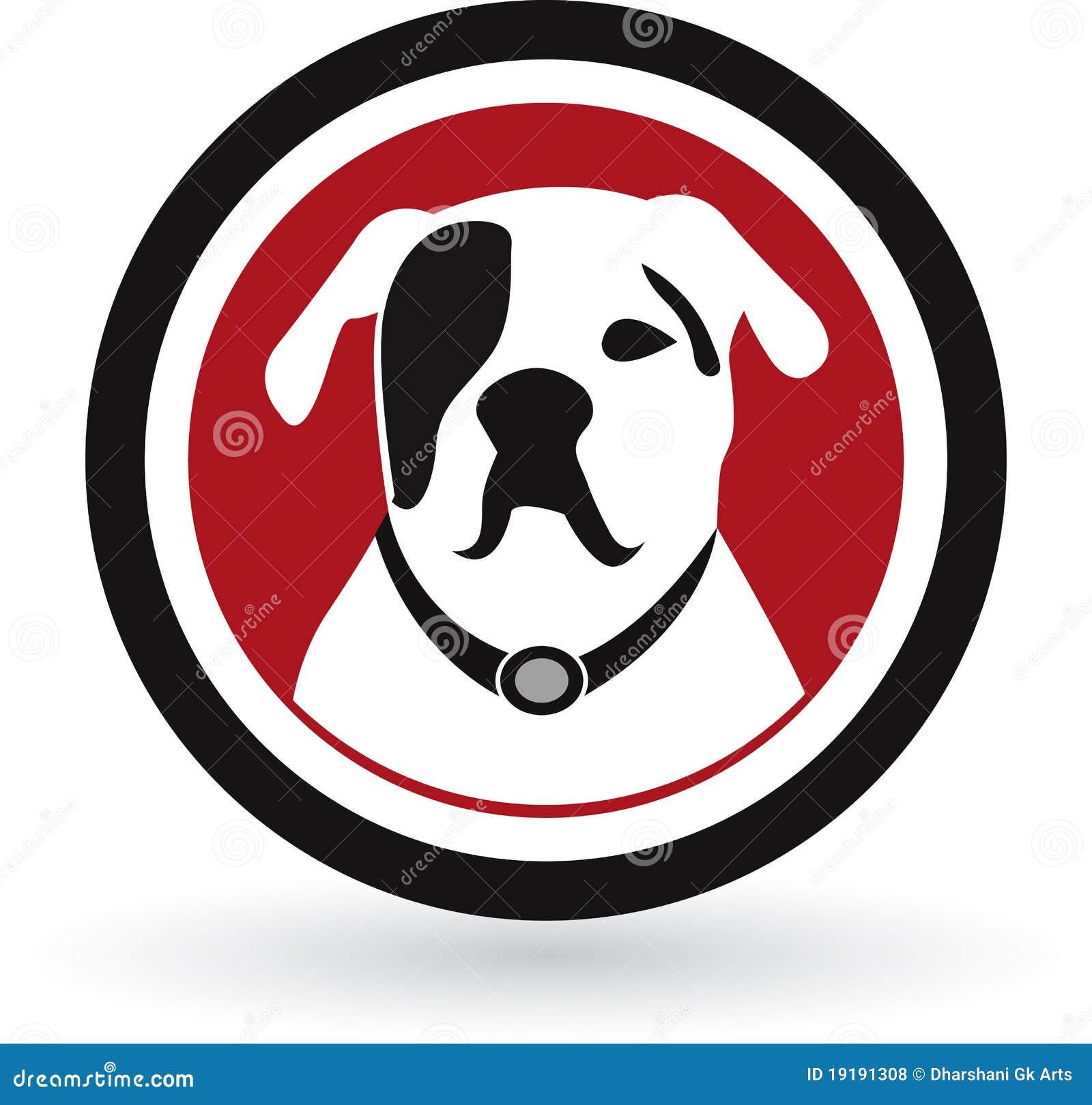 Logotipo do cão do Pug