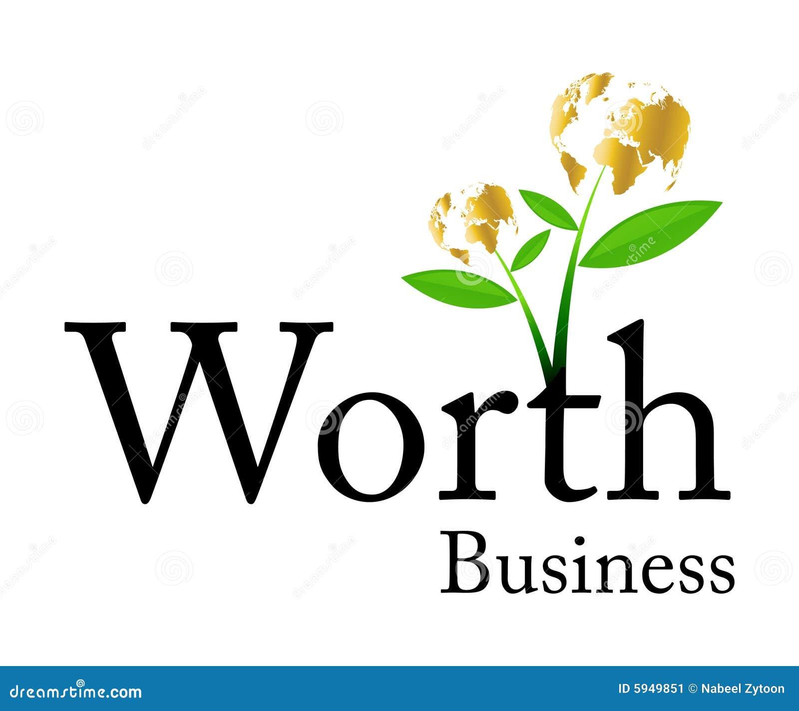 Logotipo do negócio do valor