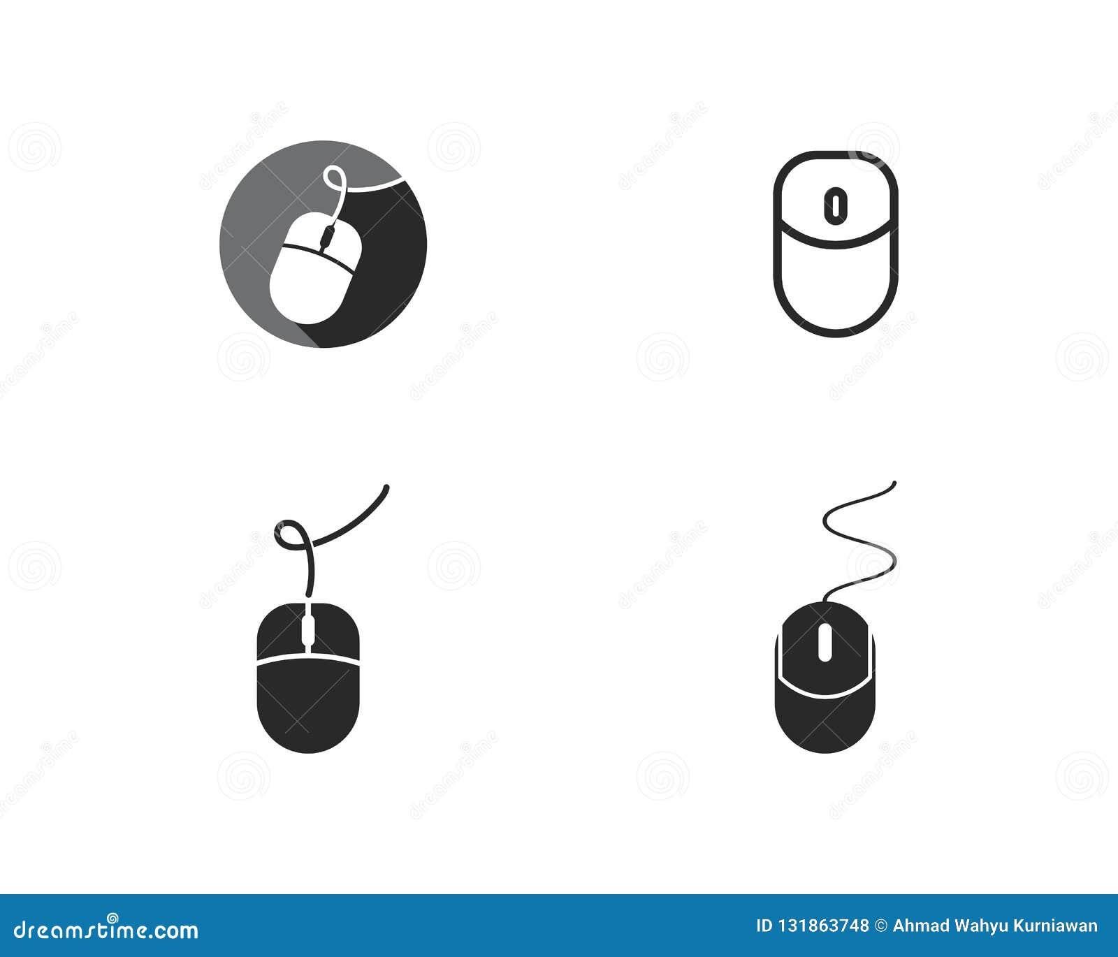Logotipo do rato do computador