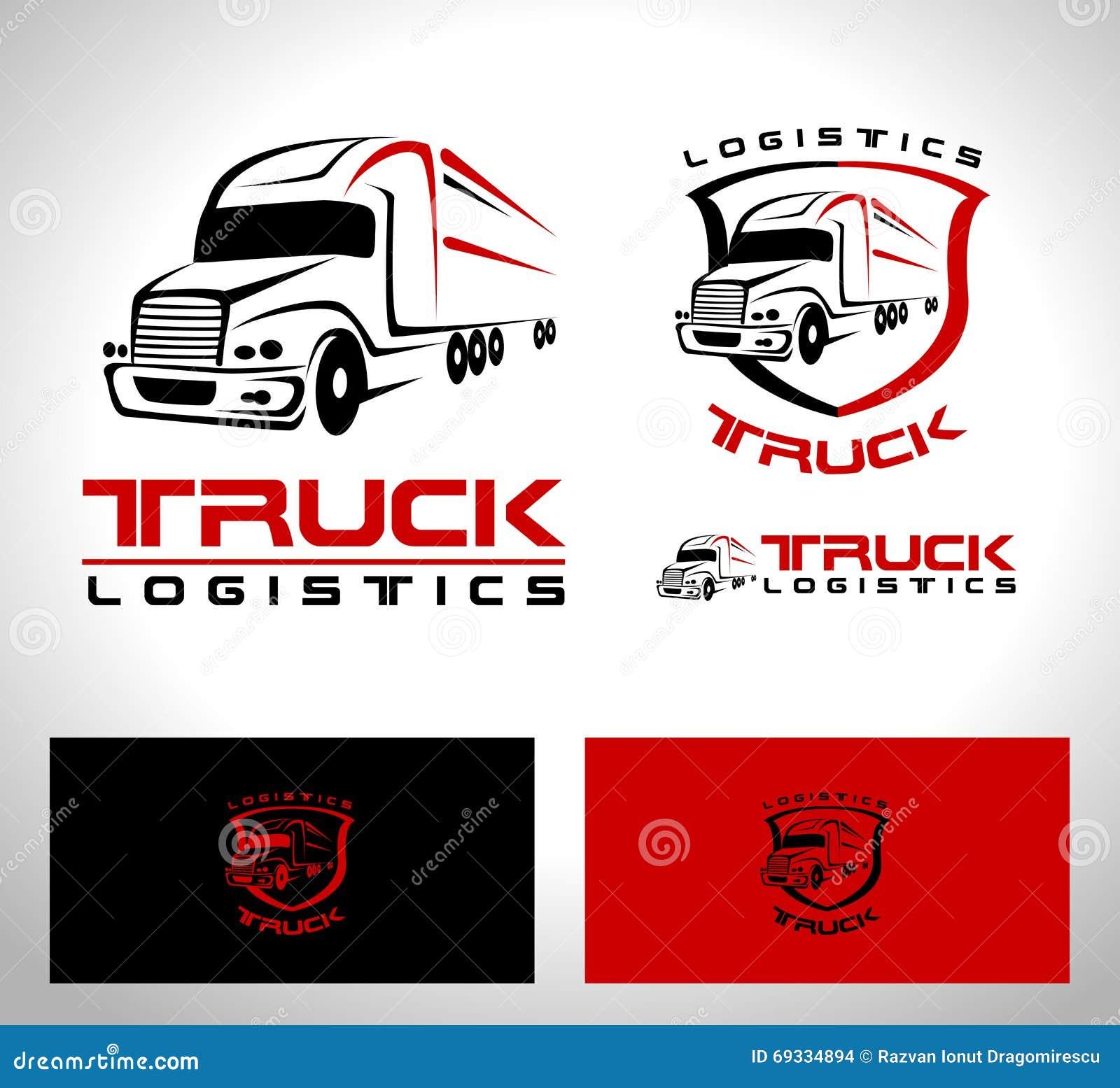 Logotipo do reboque do caminhão