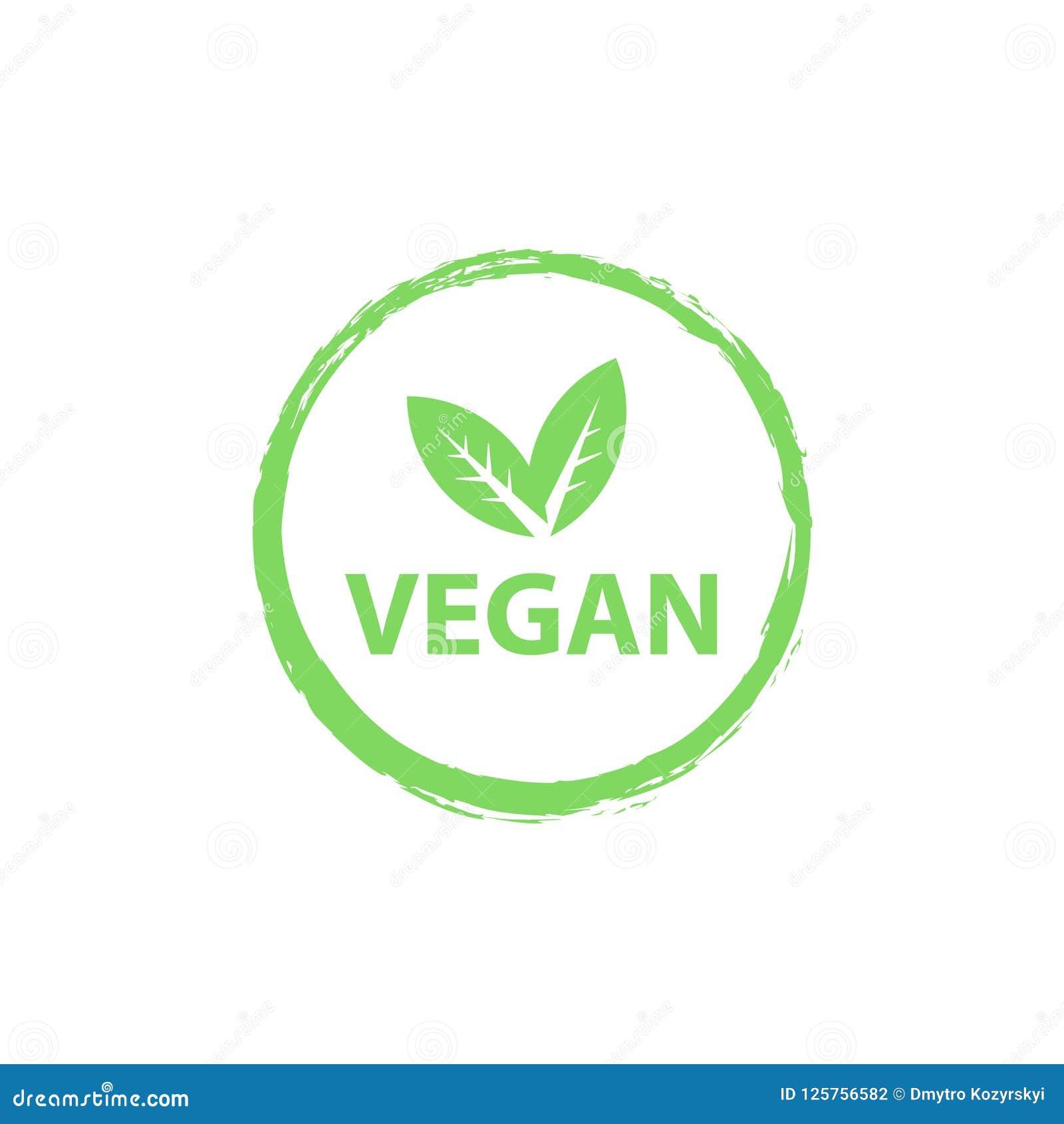 Logotipo do vegetariano, bio logotipos orgânicos ou sinal Os crachás crus, saudáveis do alimento, etiquetas ajustaram-se para o c