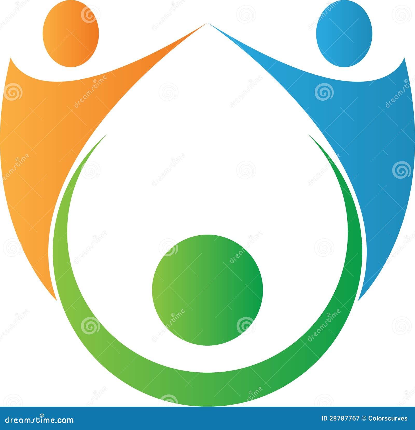 Logotipo dos povos da equipe