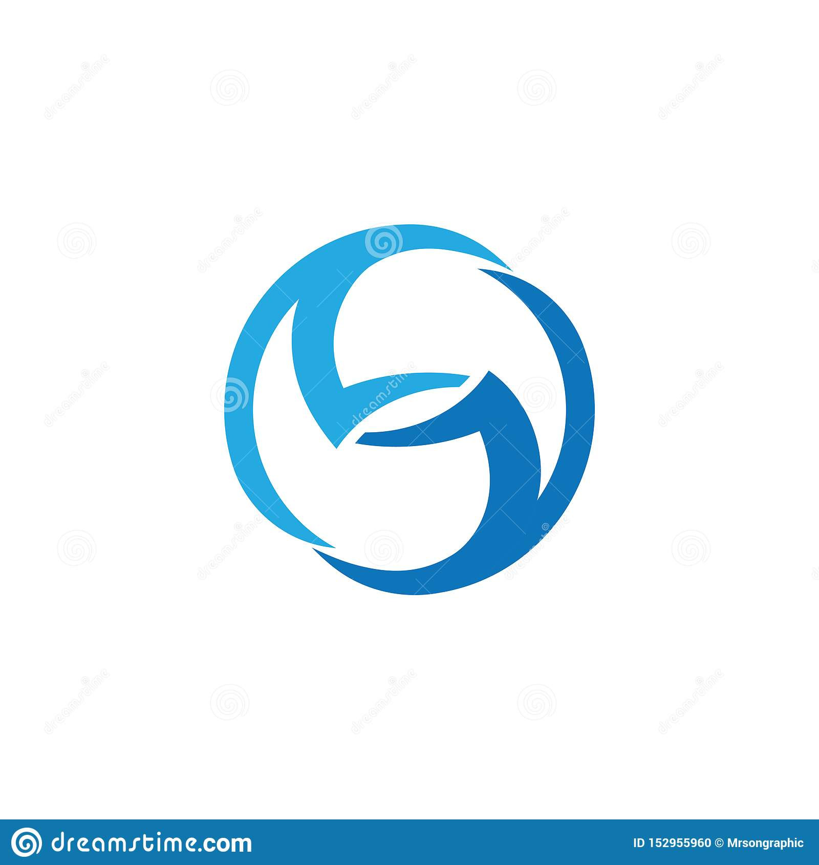 Logotipo incorporado da letra do neg?cio S