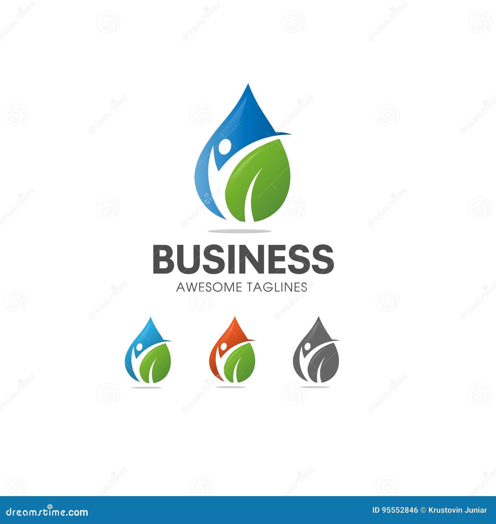 Logotipo orgânico da nutrição e da dieta do alimento natural