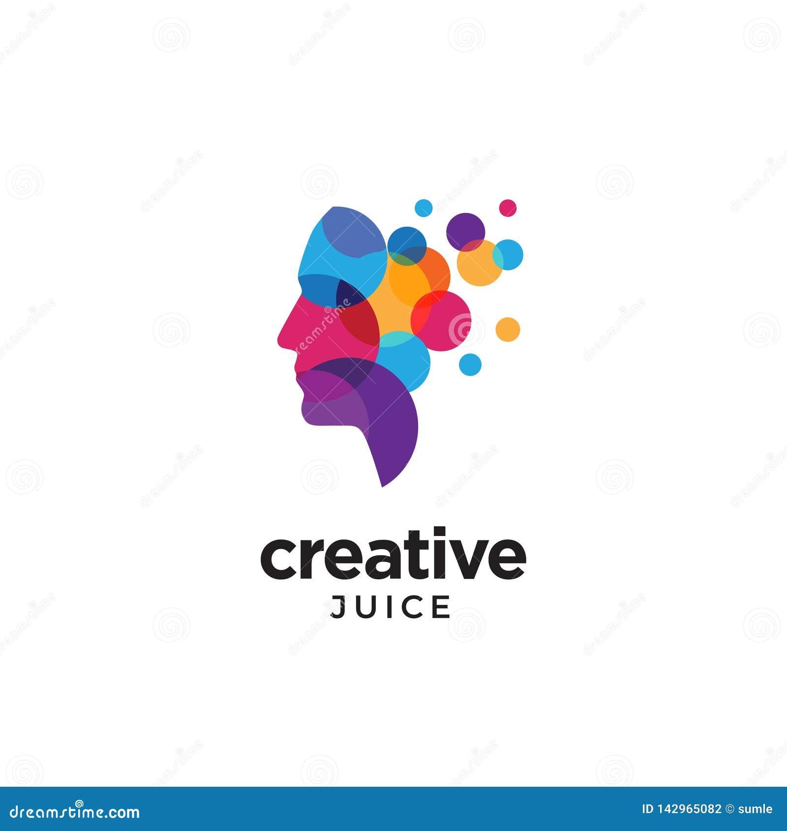 Logotipo principal humano do sumário de Digitas para criativo