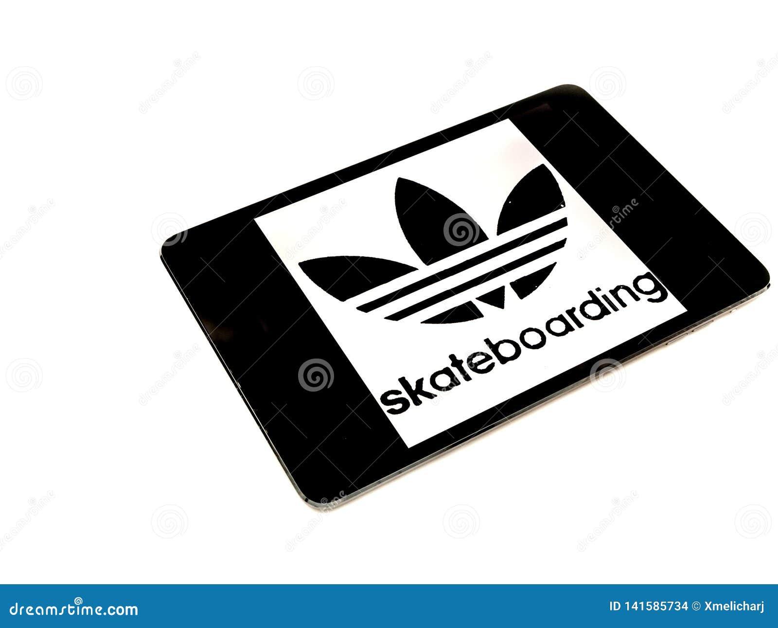 low priced 94aff 1f669 Logotipo que anda en monopatín de Adidas en la pantalla del ipad