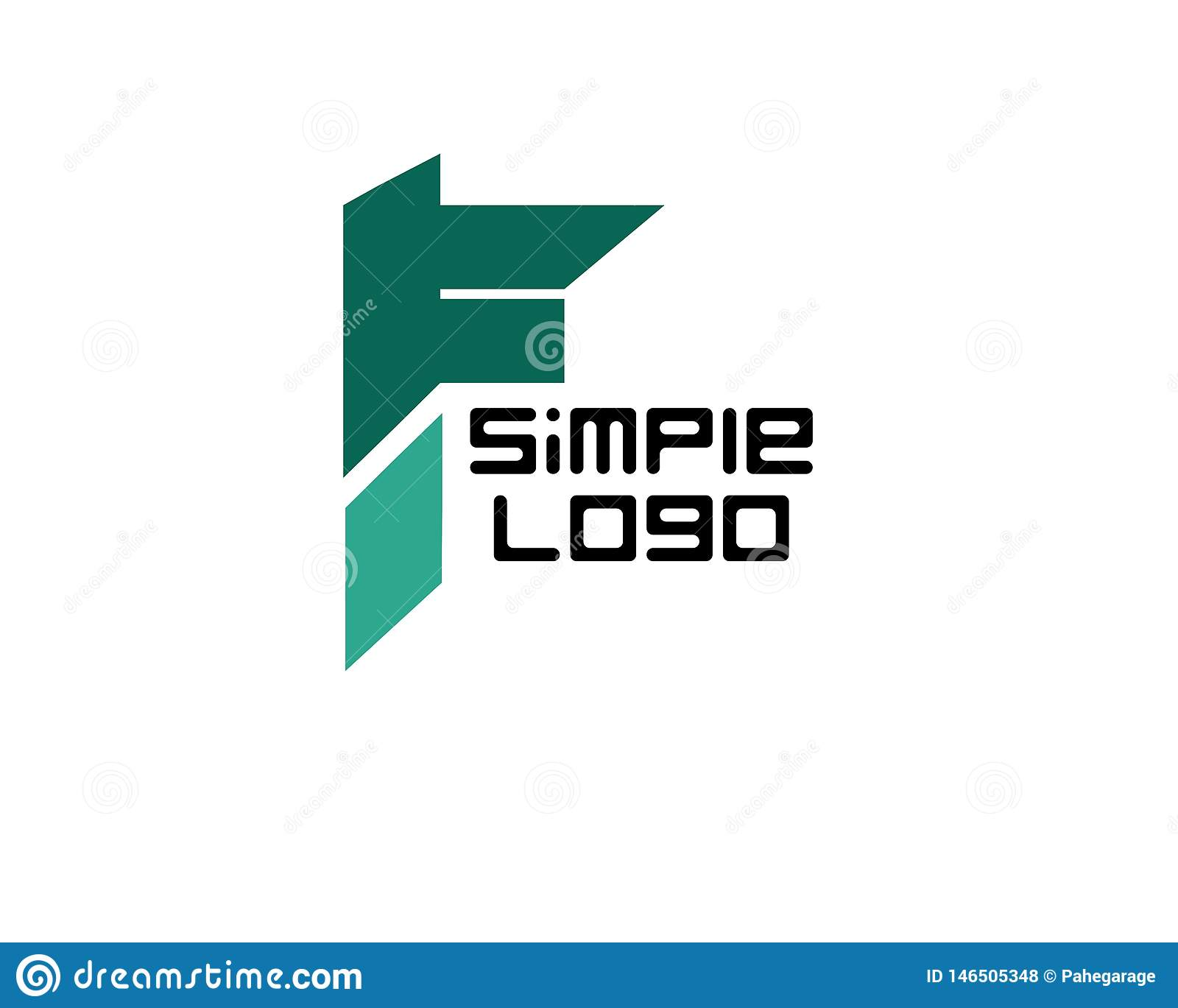 Logotipo simple ic?nico para la compa??a o el negocio
