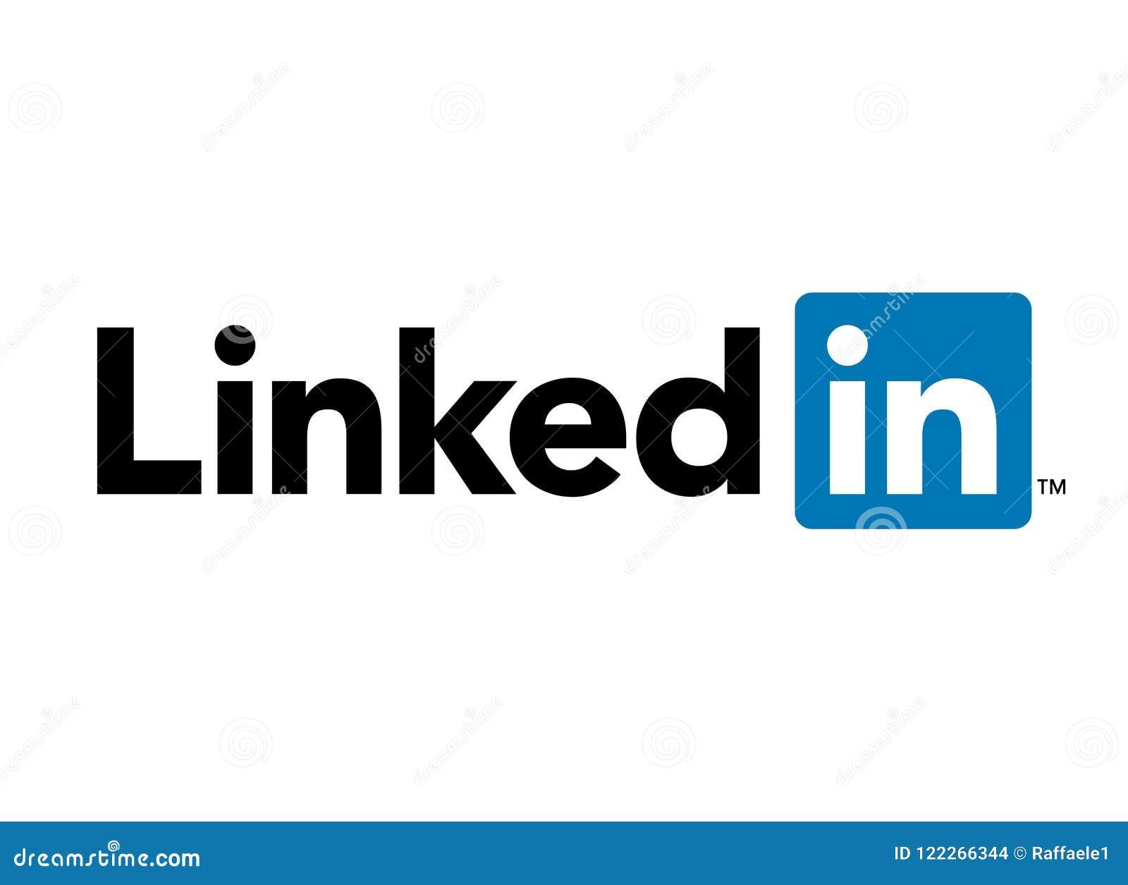Logotipo social dos meios de Linkedin