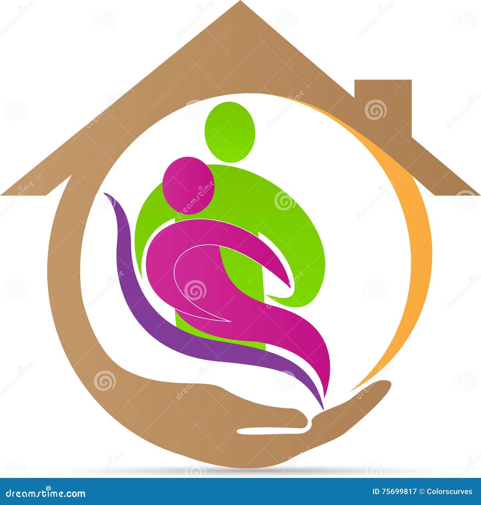 Logotipo superior do cuidado