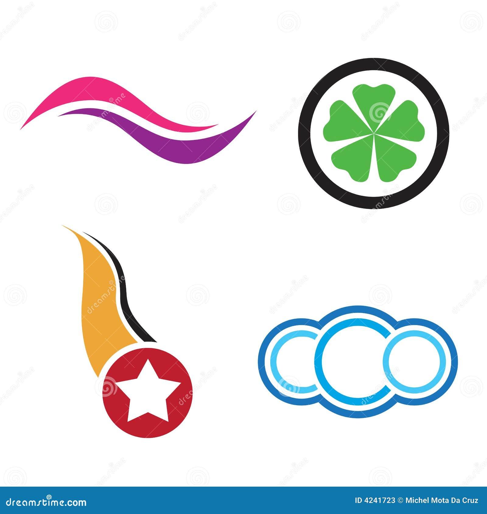 Logotipos da companhia