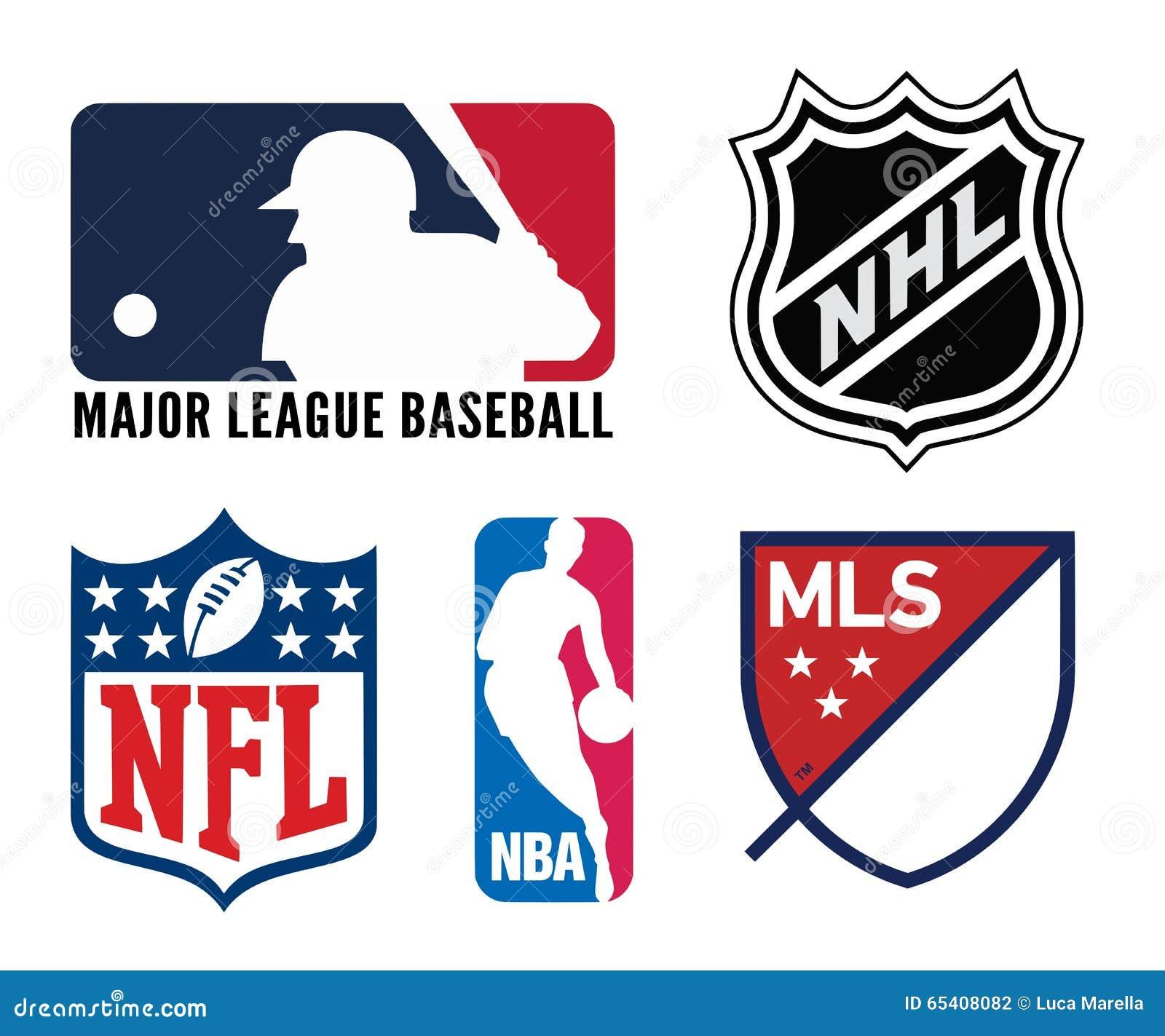 Logotipos de los deportes de los E.E.U.U.