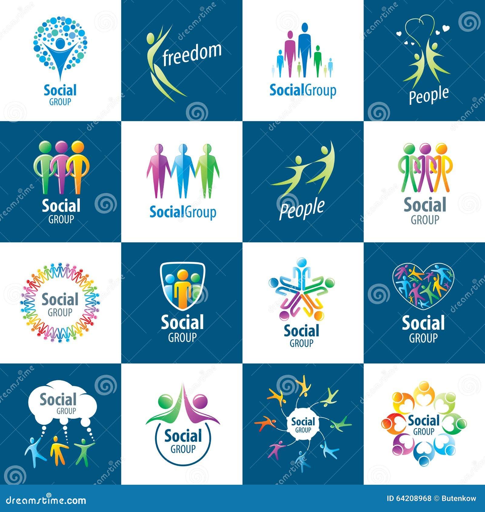 Logotipos del grupo social