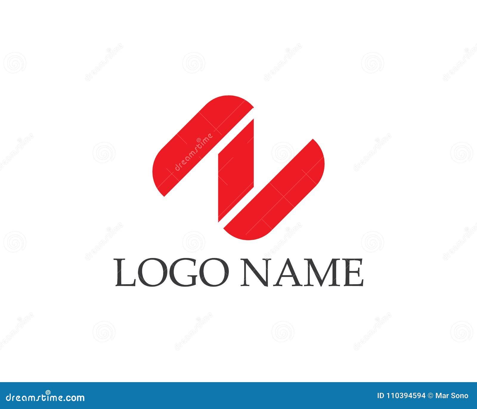 ae0f4eb06 Logotipos Dos ícones Do Vetor Da Letra N Ilustração do Vetor ...