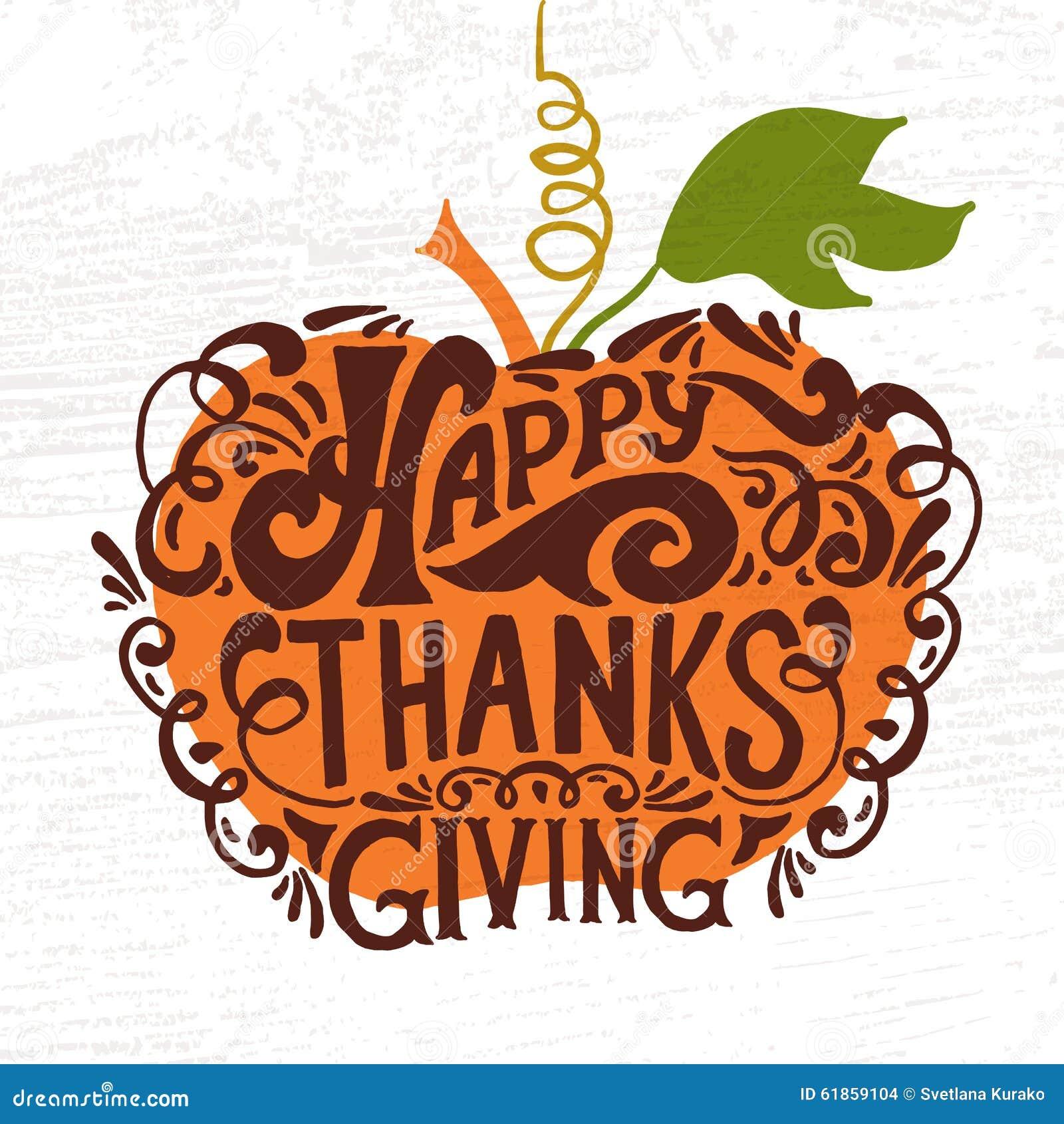 Logotype, insigne et icône heureux de jour de thanksgiving